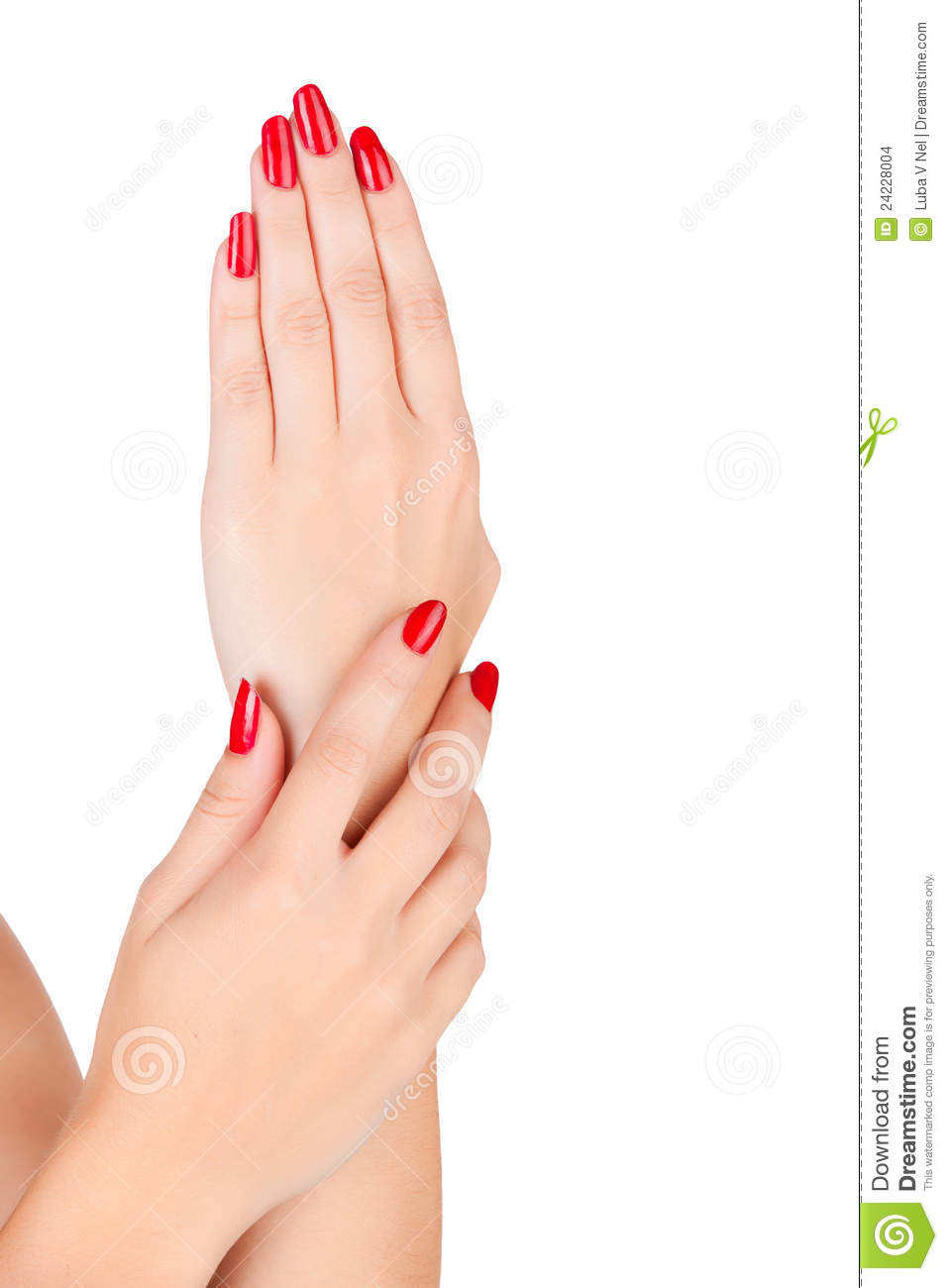 How To Paint Your Nails Red - Nails Gallery