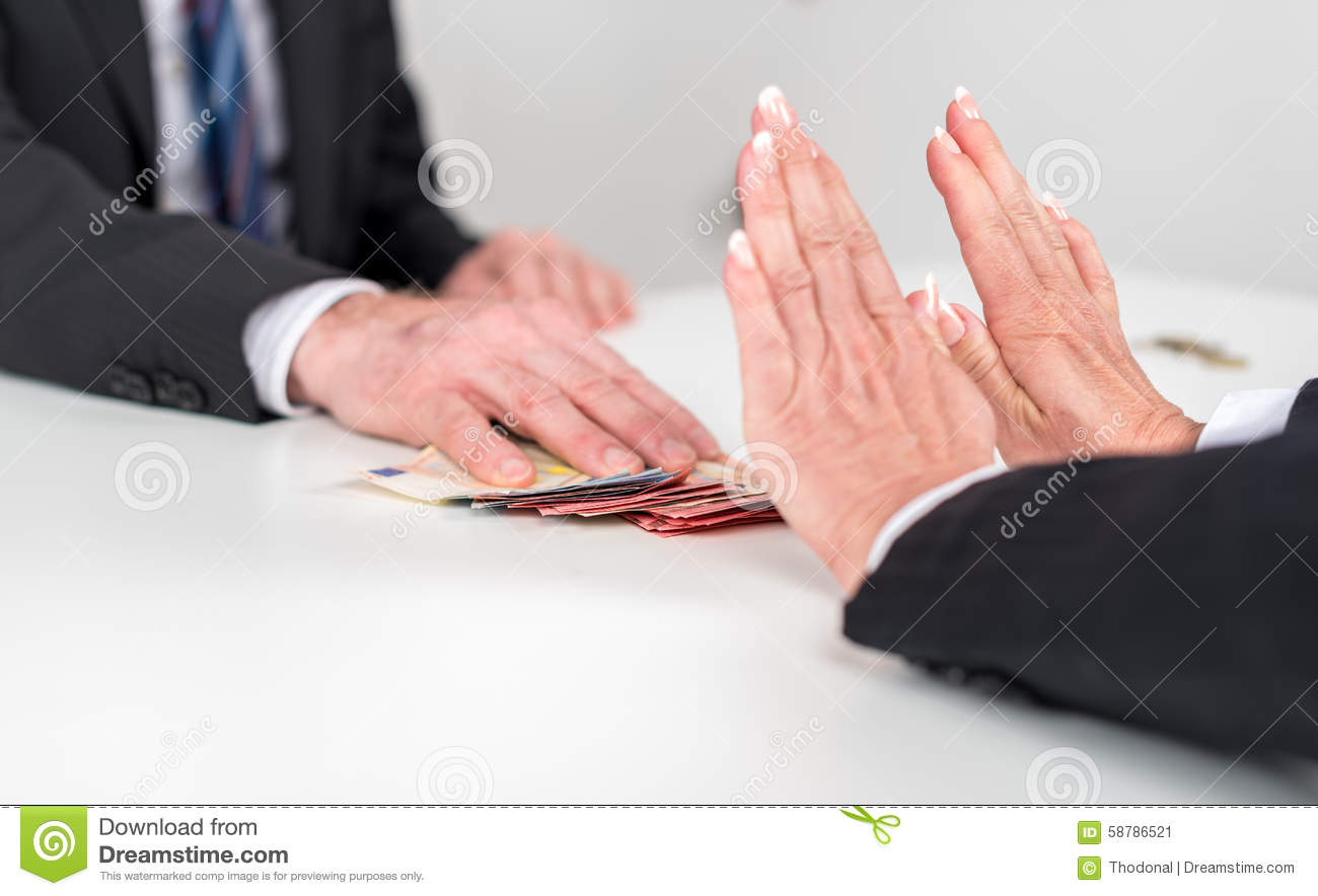 w hands rejecting an offer of money stock photo image 58786521 w hands rejecting an offer of money