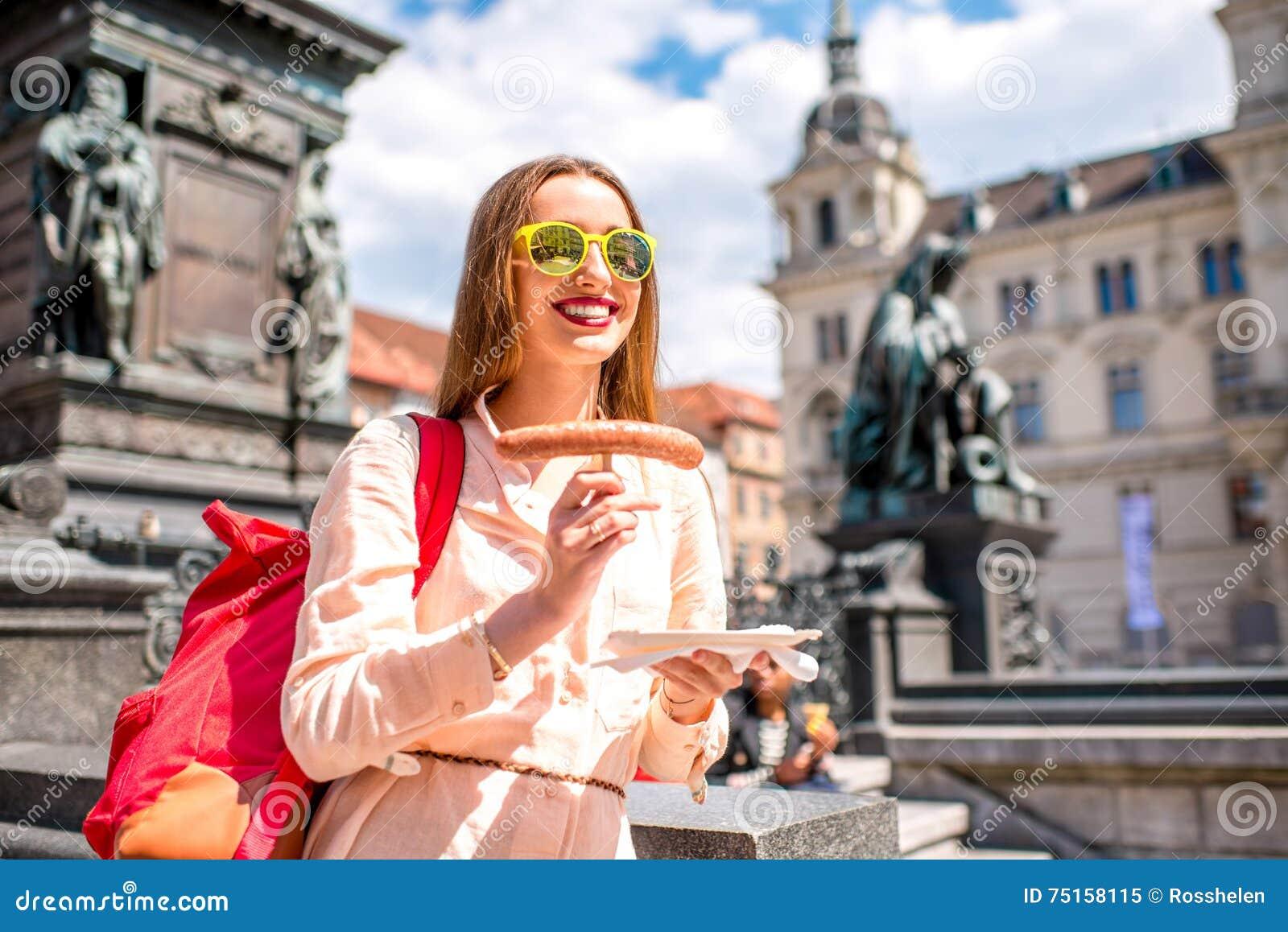 Teen girls in Graz