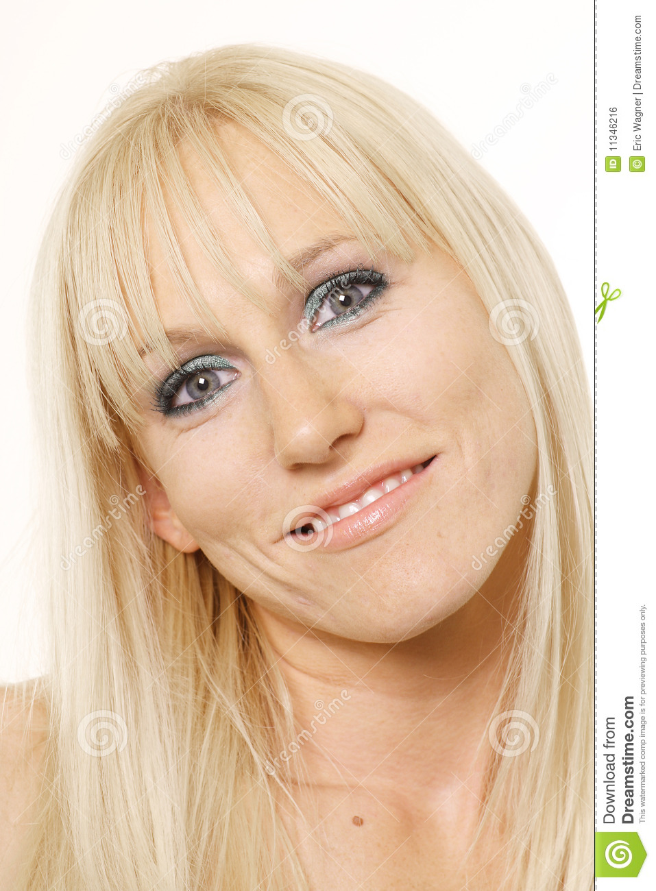 Woman With Head Tilted Royalty Free Stock Image - Image ...