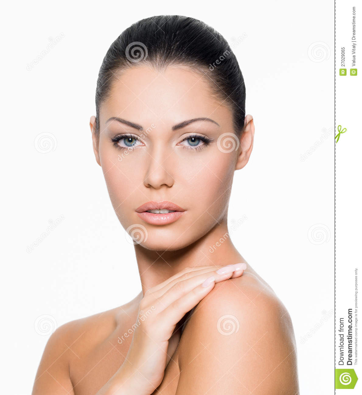Woman With Healthy Face Royalty Free Stock Photo