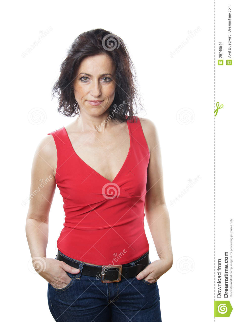 Woman in her forties