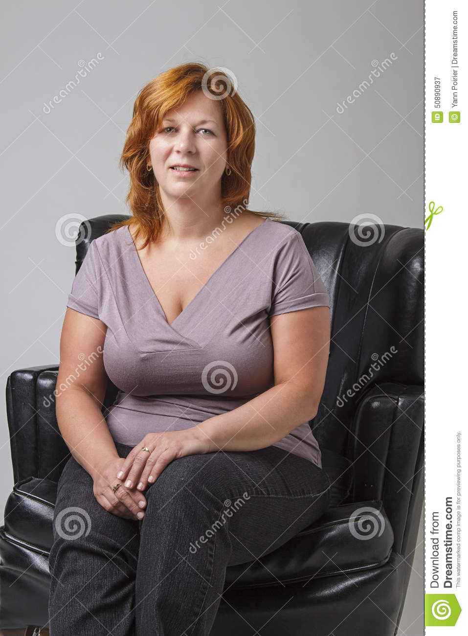Woman In Her Forties Stock Photo Image 50890937