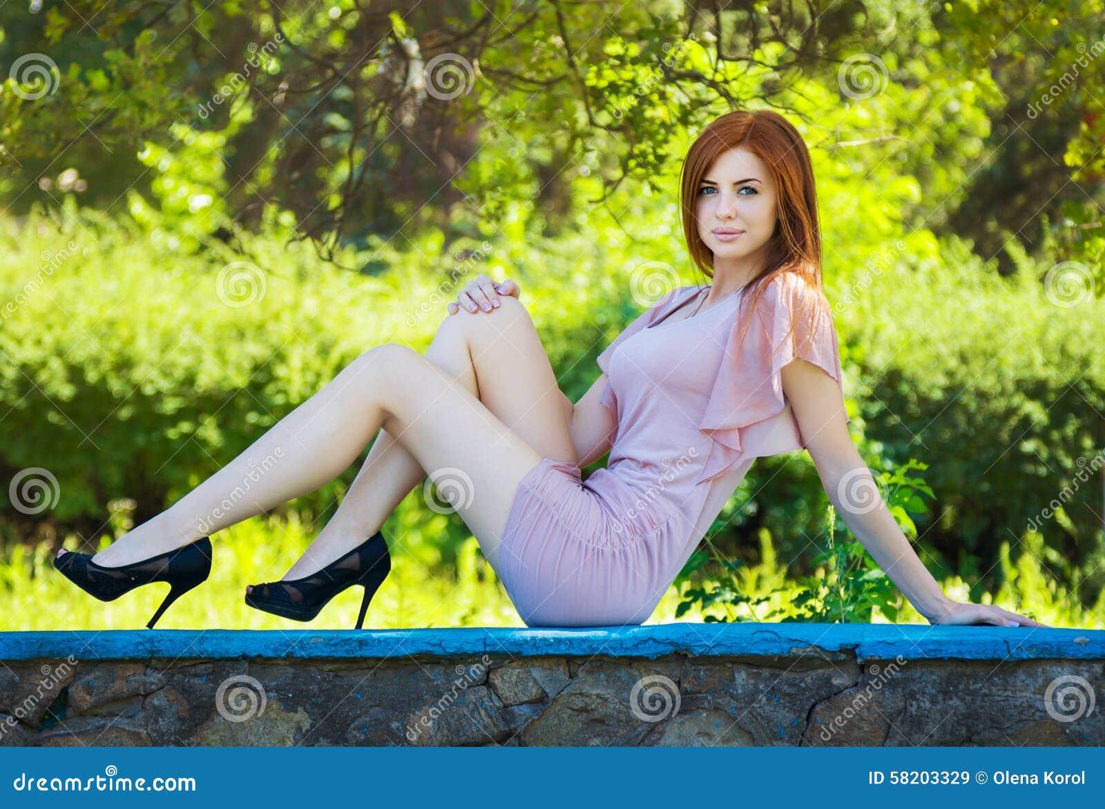Woman in high heels