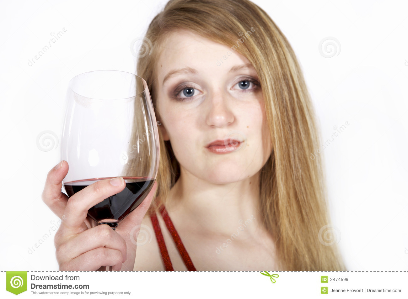 Woman Hold Wine Glass Royalty Free Stock Images - Image ...