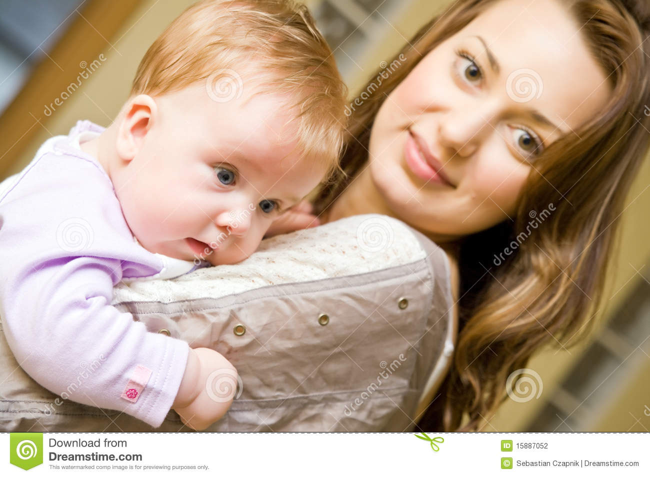 Woman Holding Baby Stock Photography - Image: 15887052