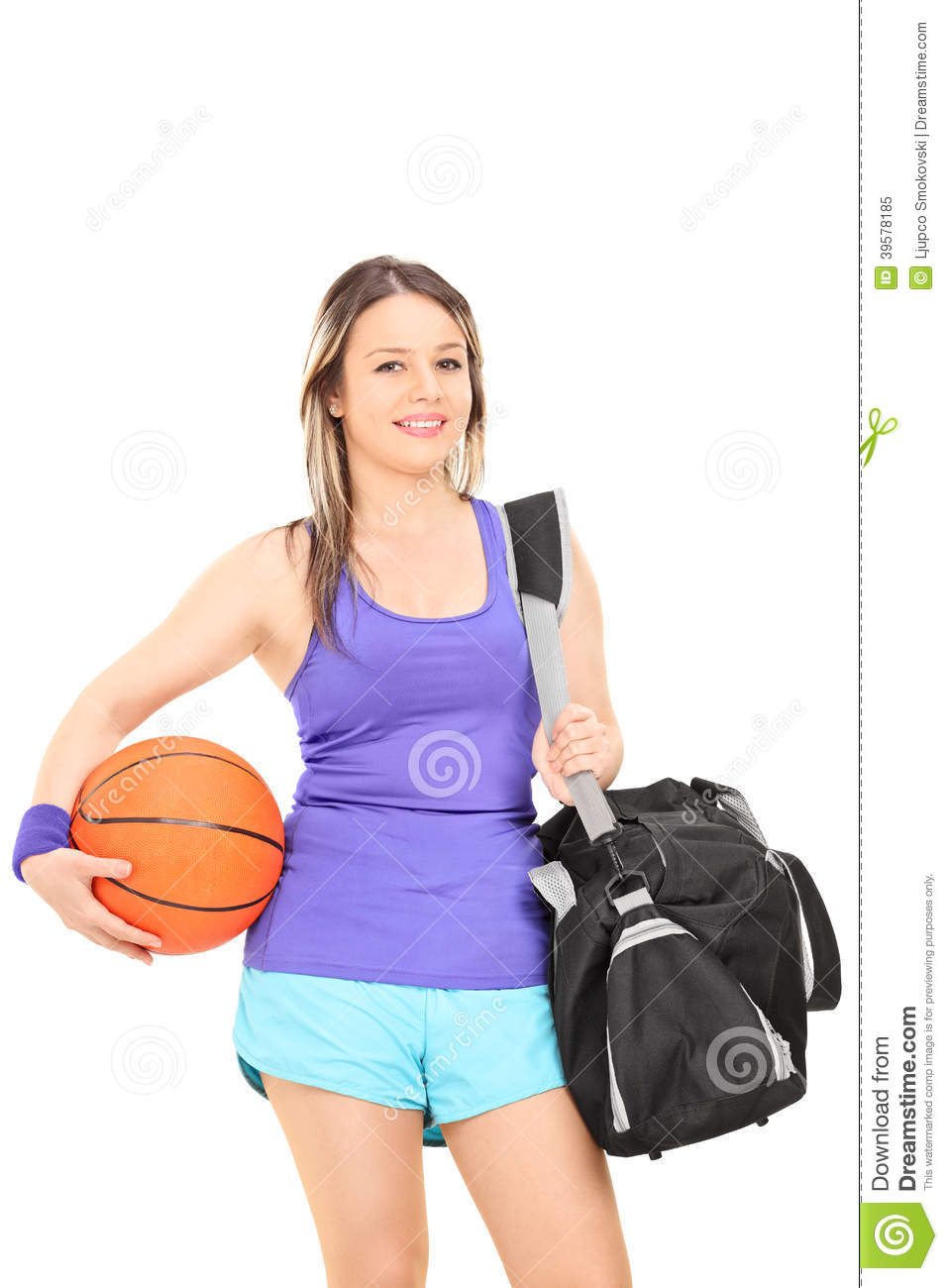 Original Woman Holding Shopping Bags Royalty Free Stock Photo - Image 17050805