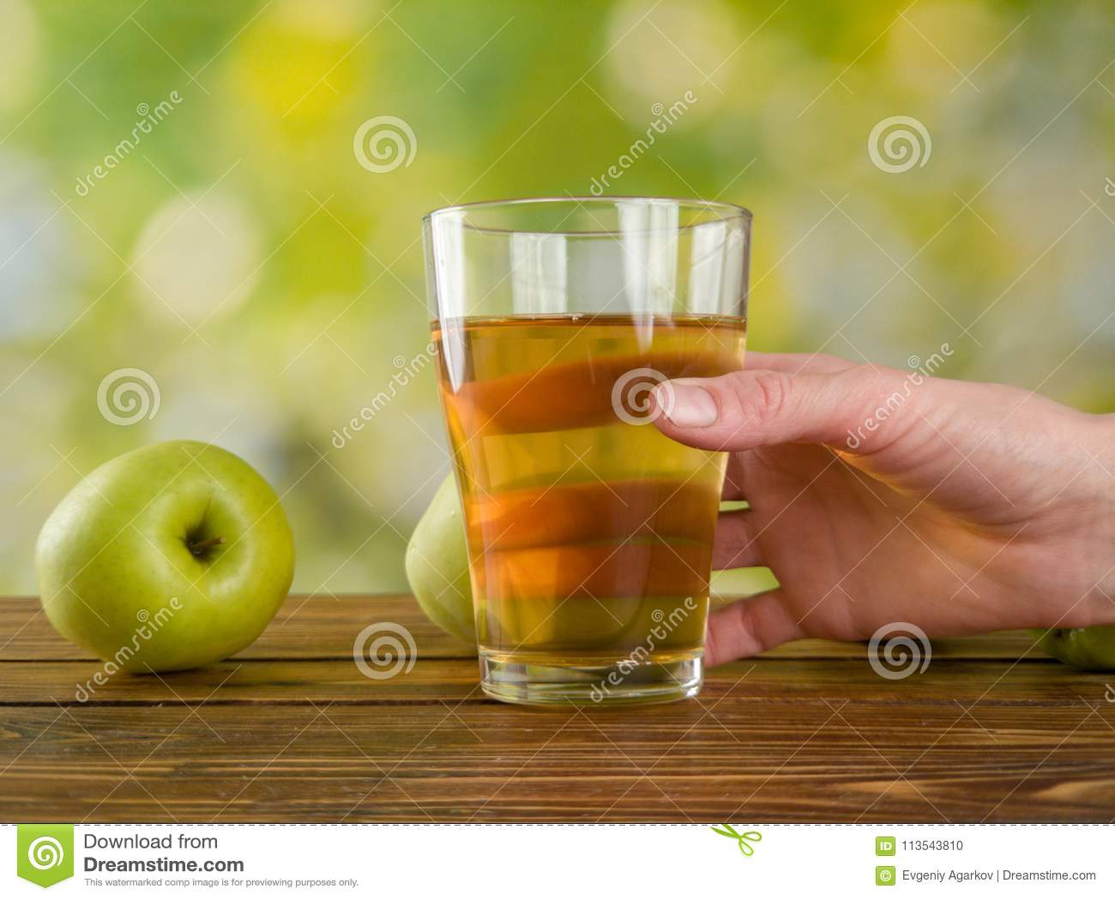 Apple juice, and the garden APPLE 26