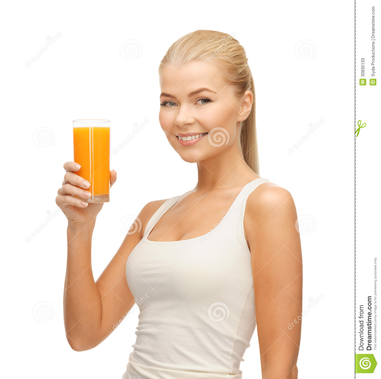 Holding Drink Glass Casual