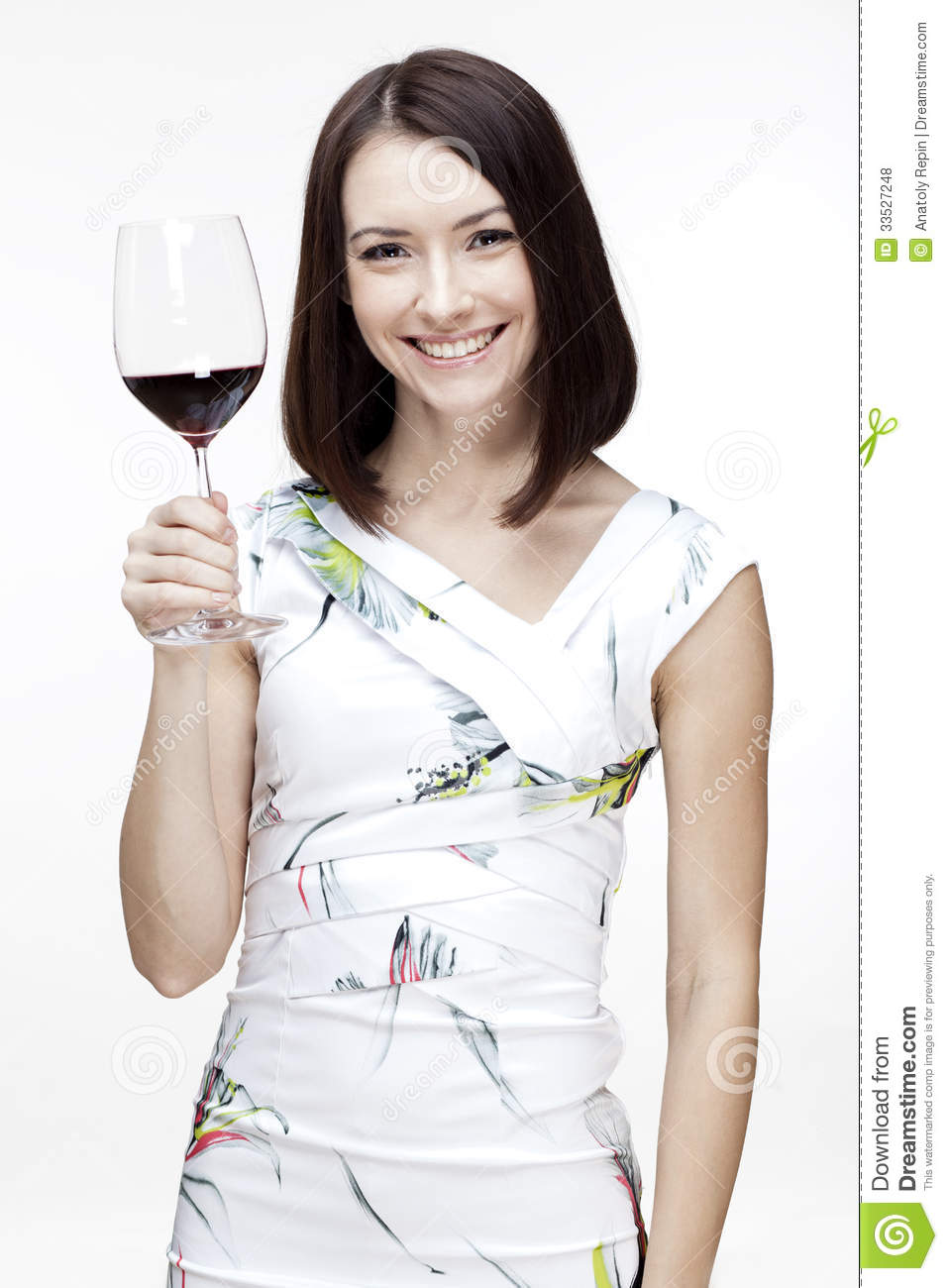 Woman Holding Wine Glass Royalty Free Stock Photos - Image ...