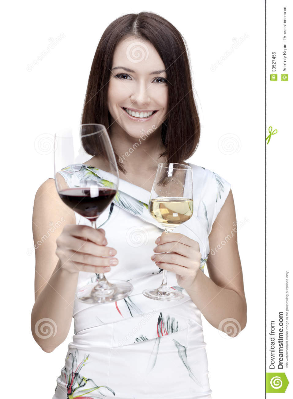 Woman Holding Wine Glass Royalty Free Stock Image - Image ...