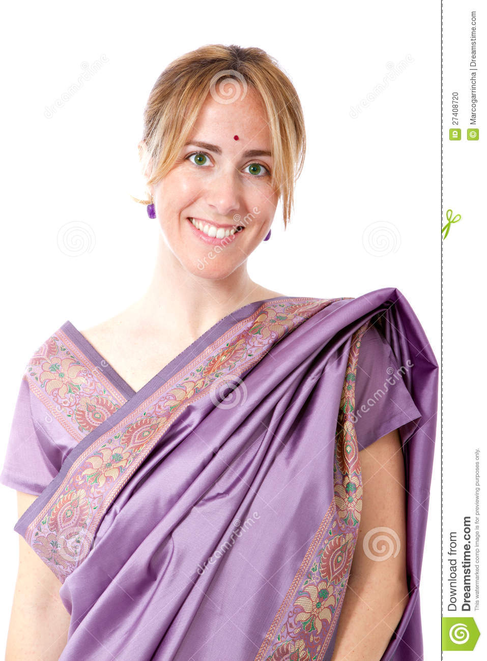 Woman indian traditional dress