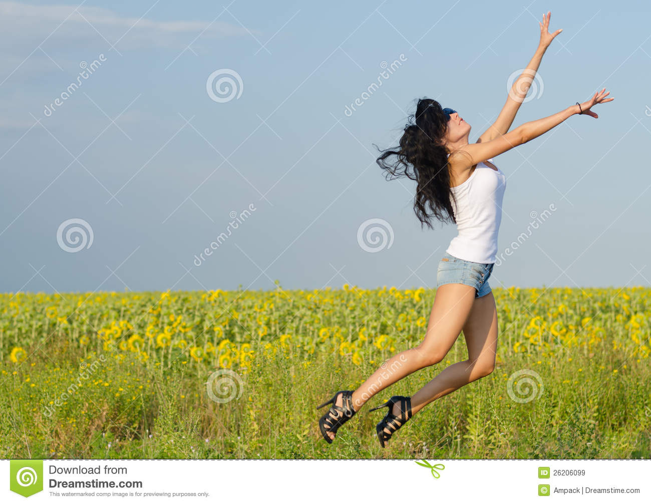 Jumping For Joy Animals Woman Jumping For Joy Cartoon