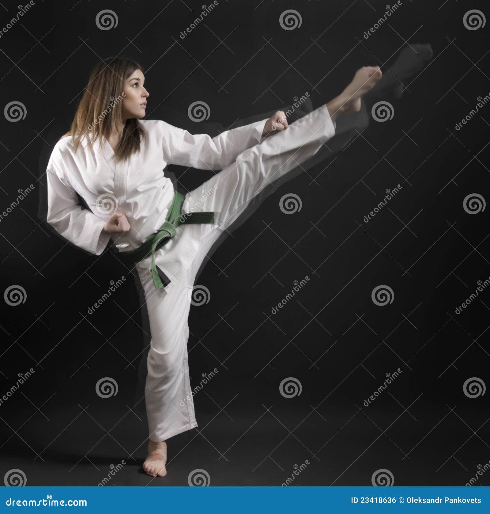 girls kick Japanese high