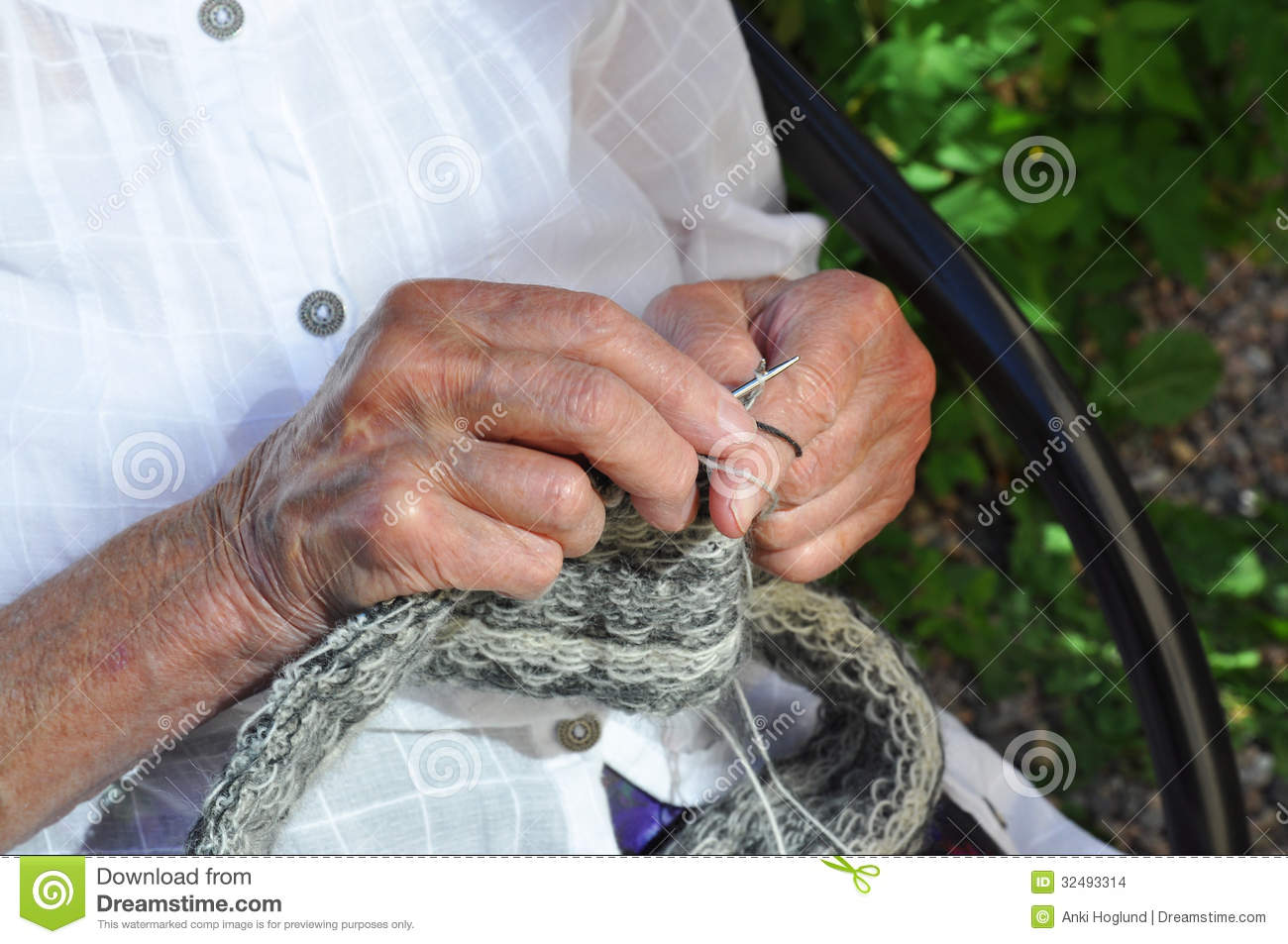 Old Knitting Woman : Woman knitting stock images image