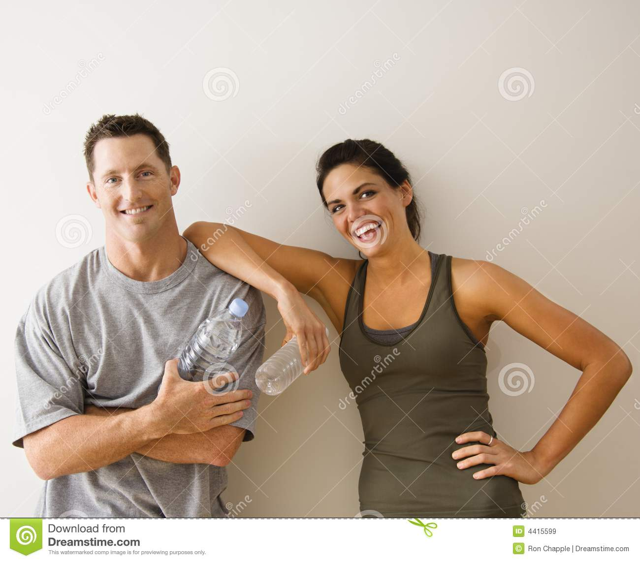 Woman Leaning On Man Royalty Free Stock Images - Image ...