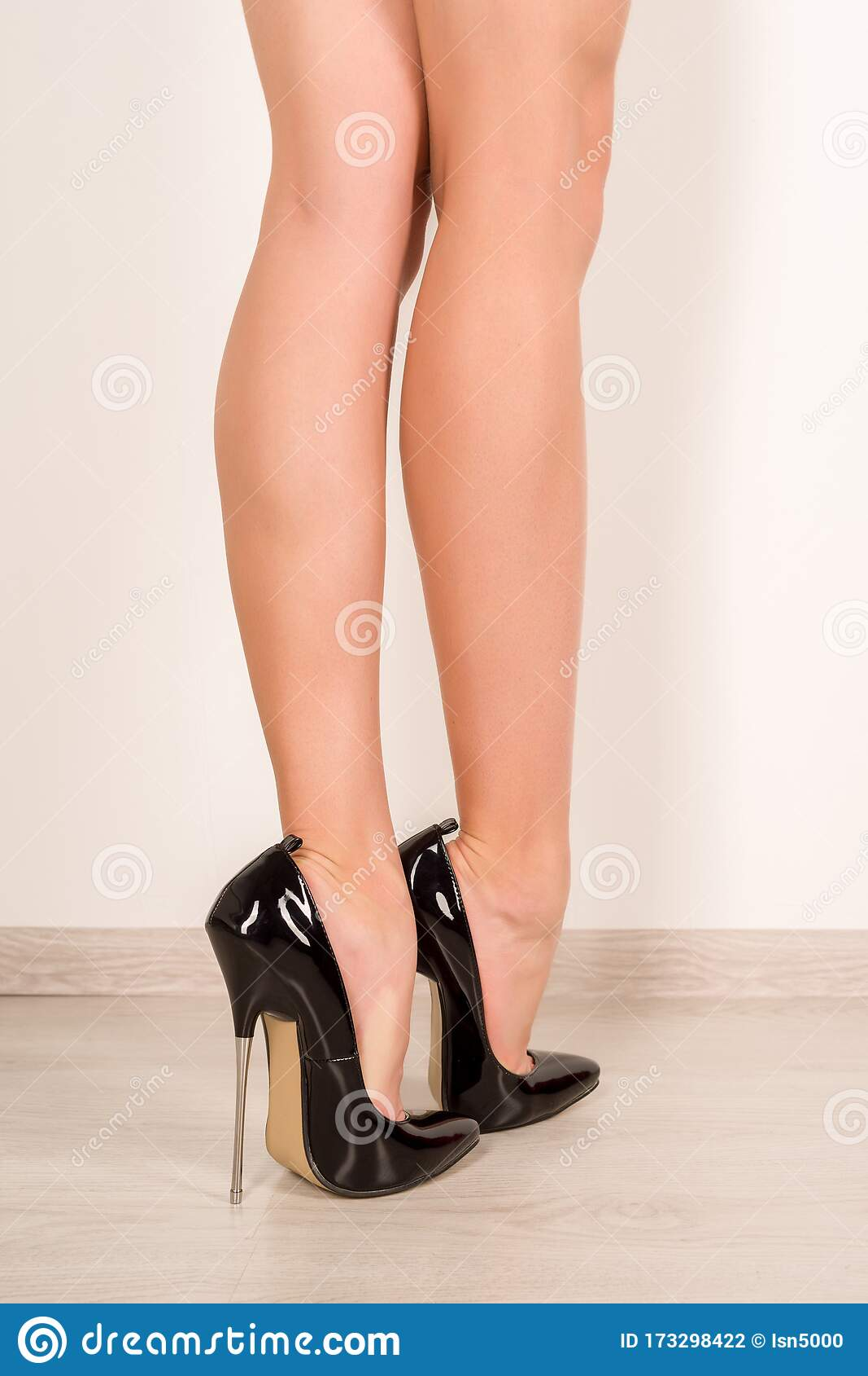 leather heels Fetish