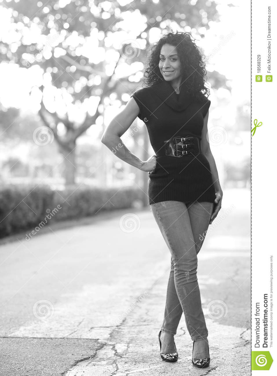 woman with legs crossed royalty free stock images image