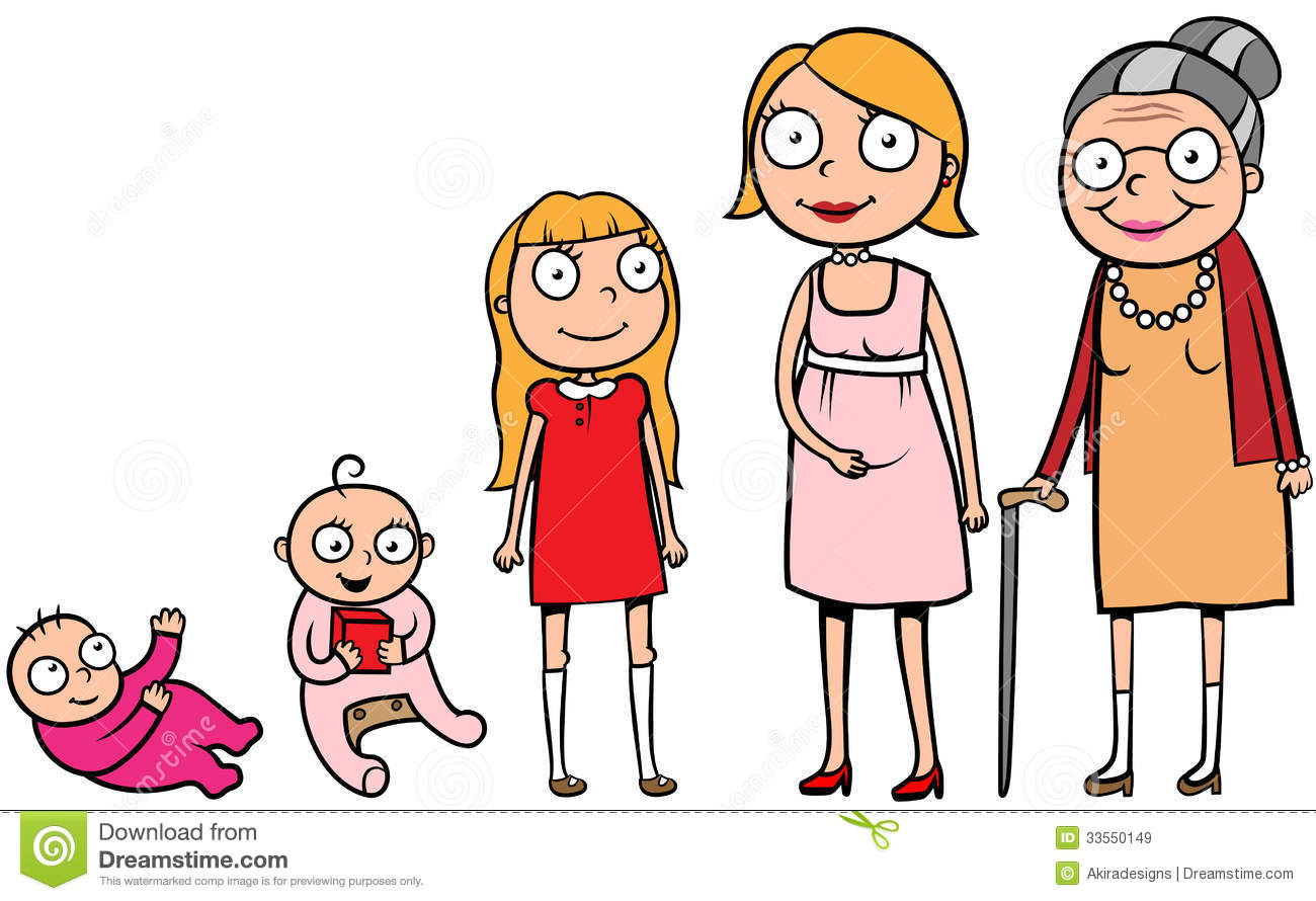 Human life stages for kids - photo#25