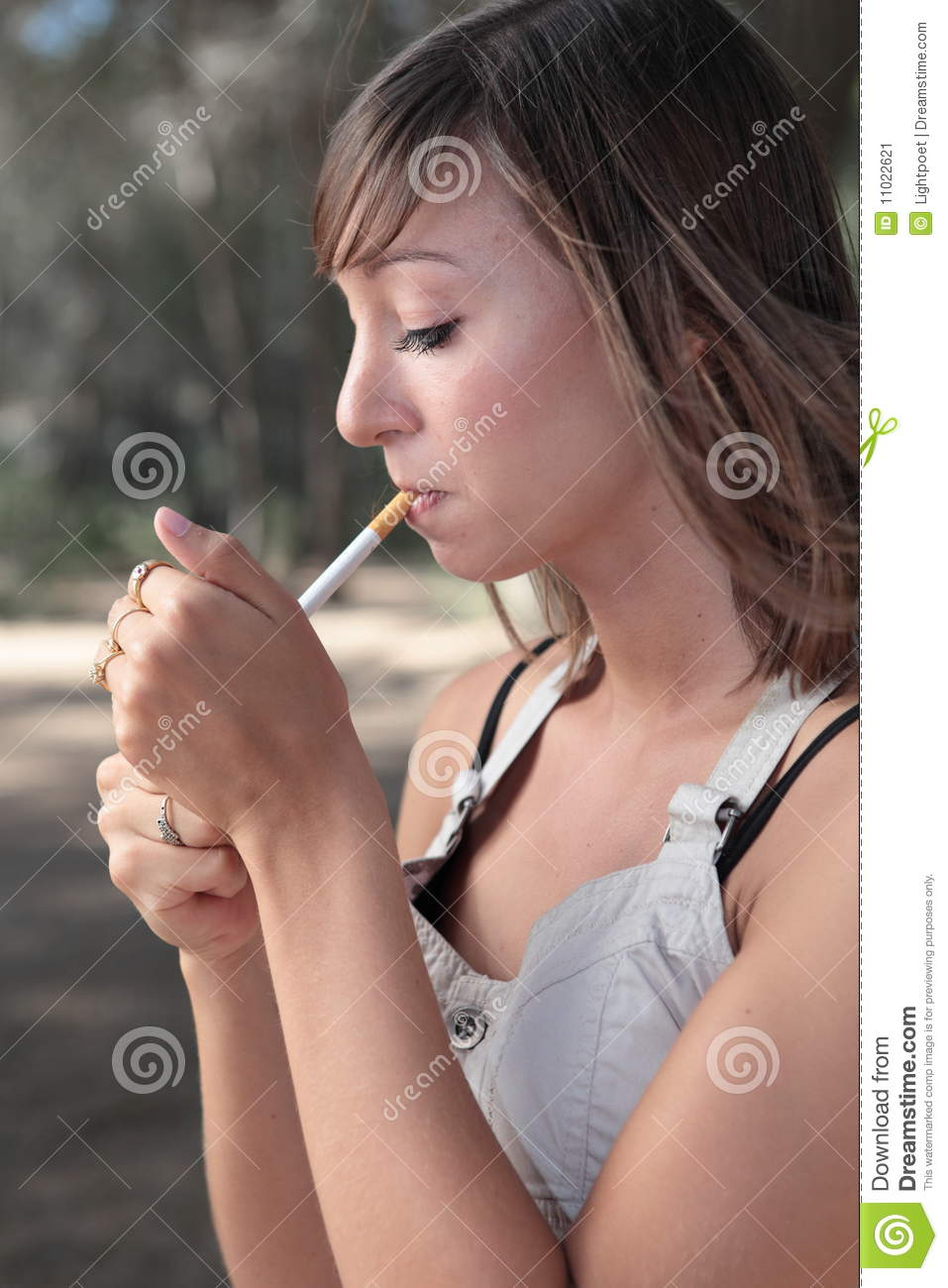 Royalty-Free Stock Photo. Download Woman Lighting A Cigarette ...  sc 1 st  Dreamstime.com & Woman Lighting A Cigarette Stock Image - Image: 11022621 azcodes.com