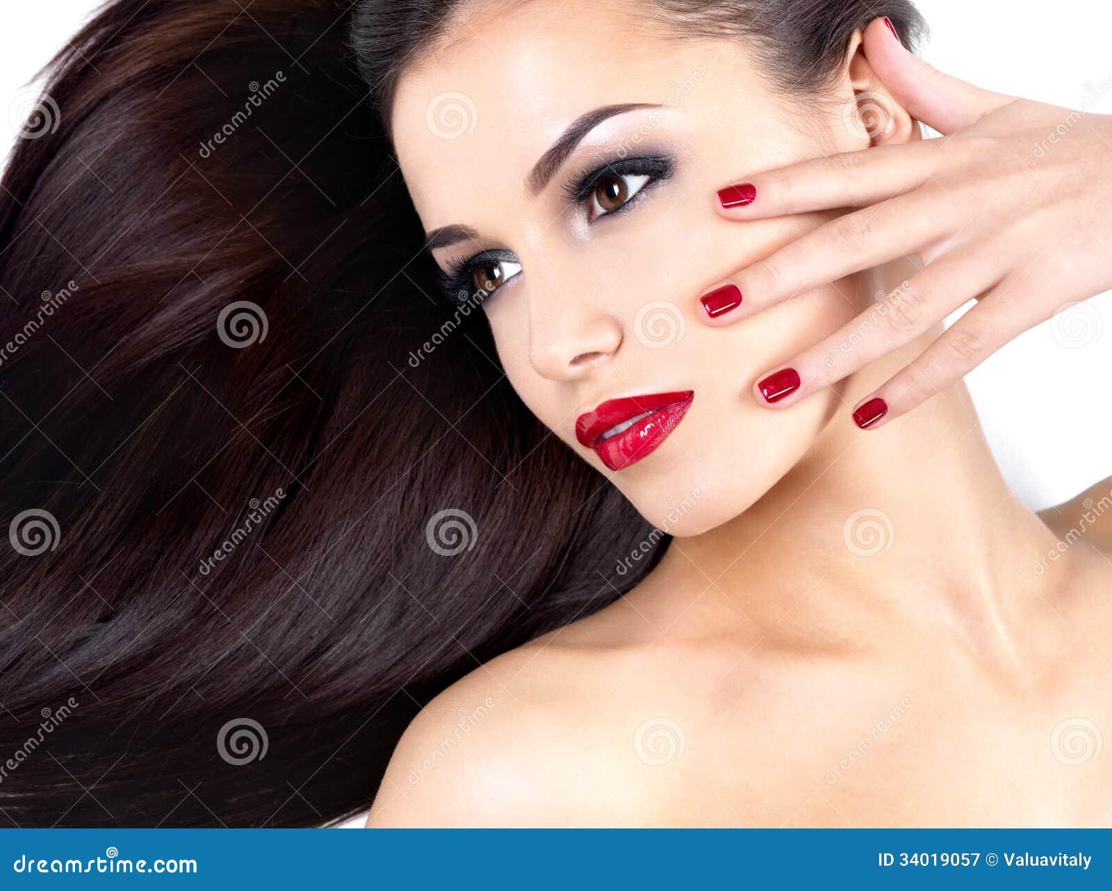 Beautiful mature women long fingernails remarkable