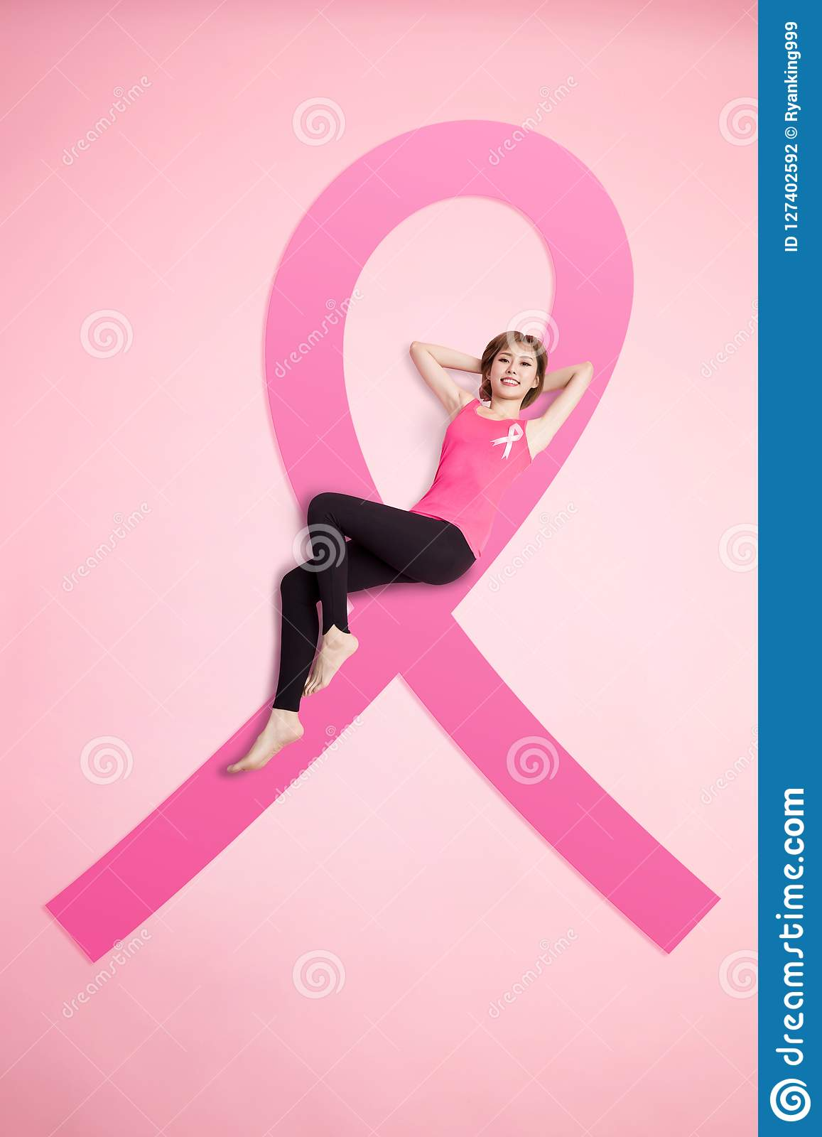 Prevention breast cancer concept