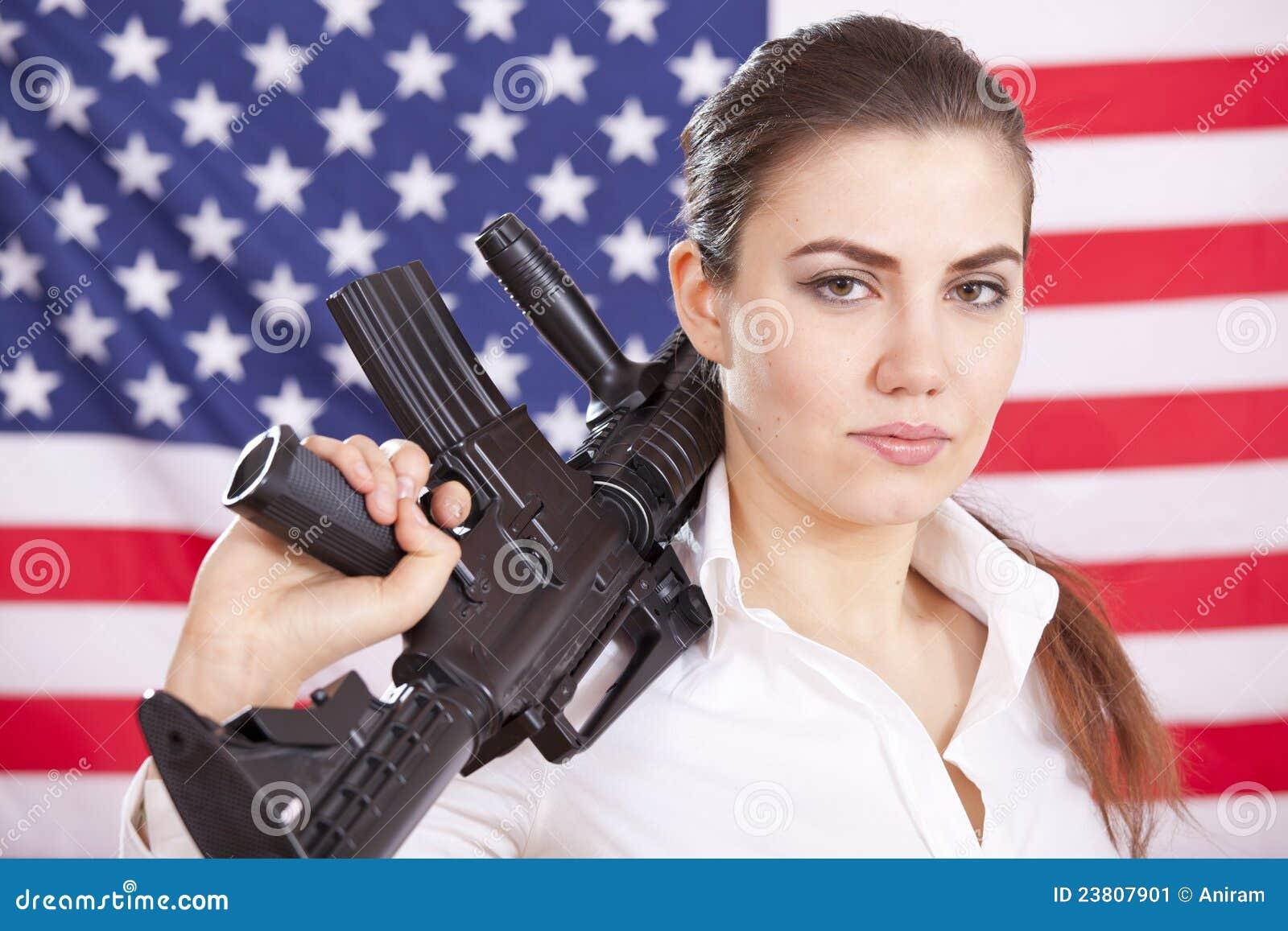 American Flag Gun Stock Photos Download 5 544 Royalty Free Photos