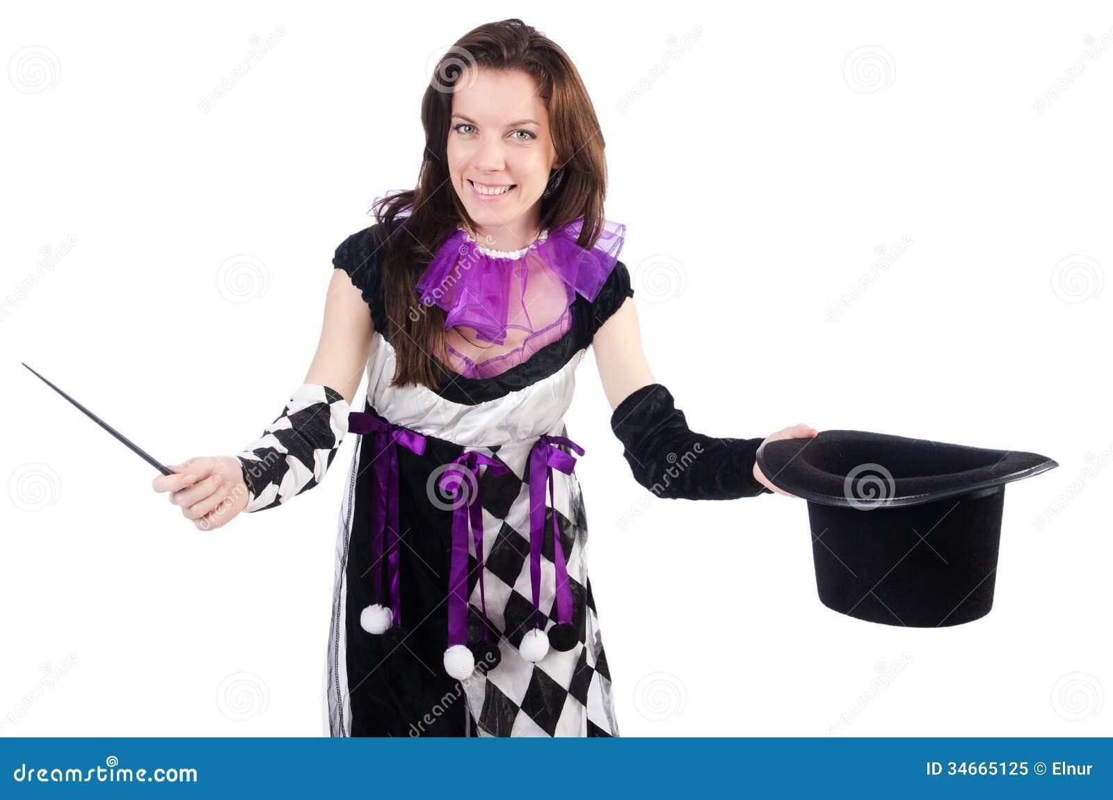 Woman magician Nude Photos 100