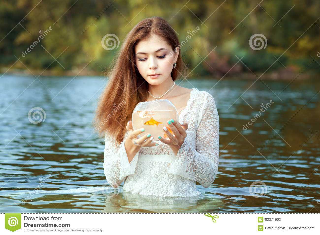 What of this goldfish would you wish
