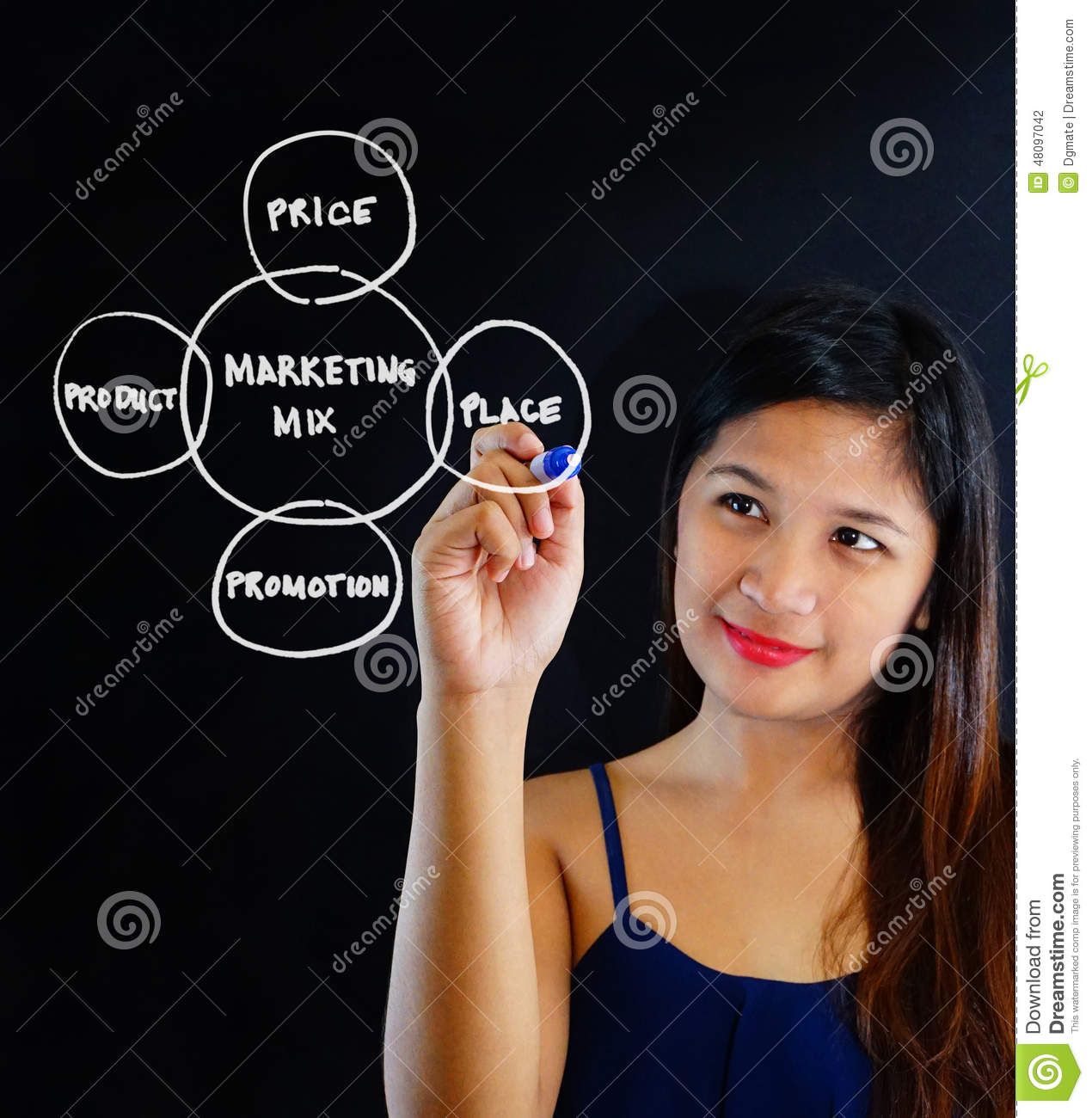 woman making dating plans