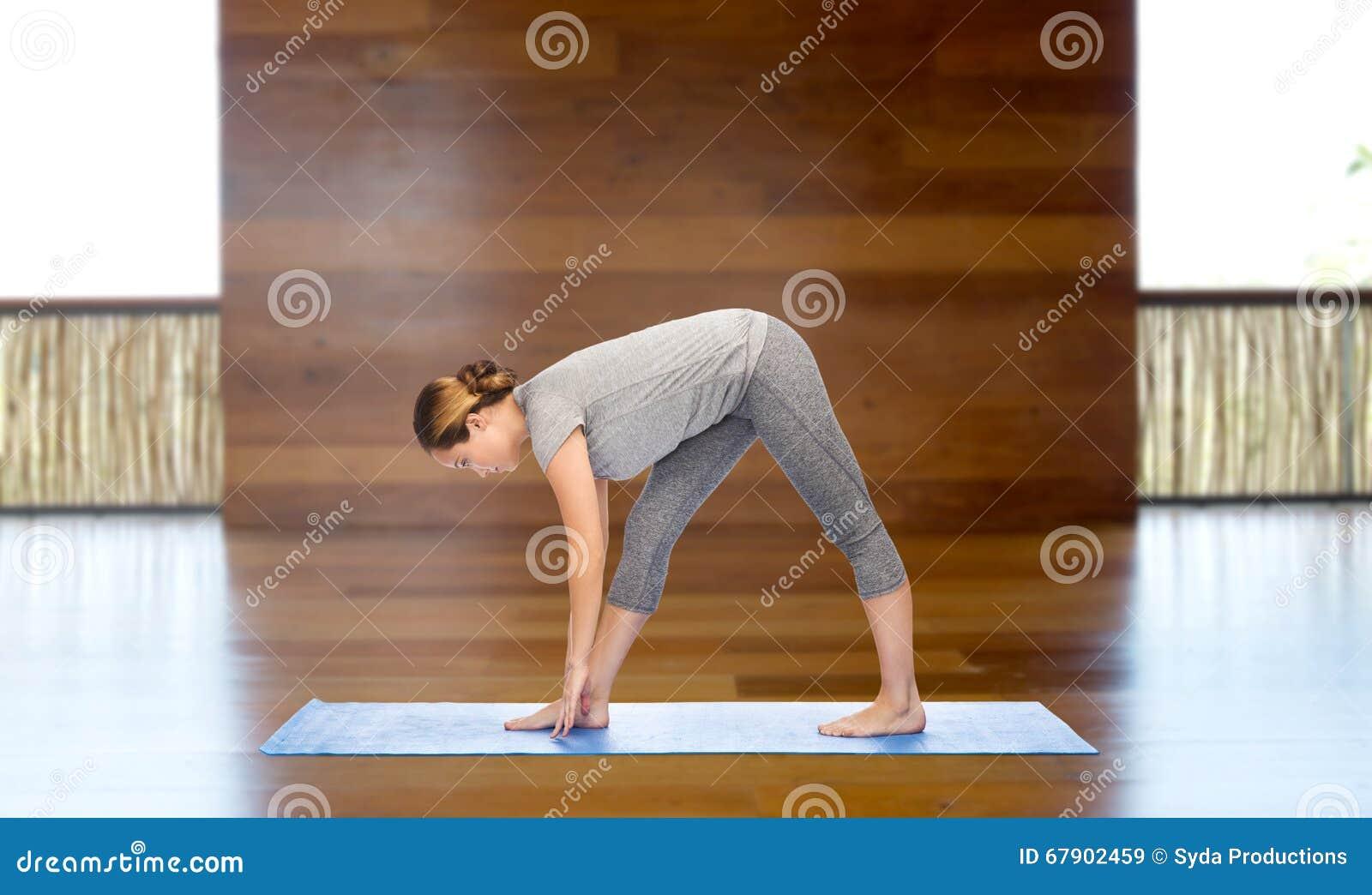 Intense Stretch Pose Royalty-Free Stock Photo ...