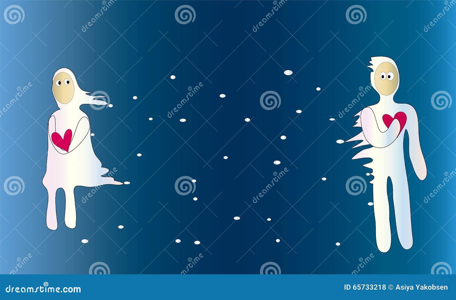 Between stock illustration. Illustration of apart, hands - 65733218