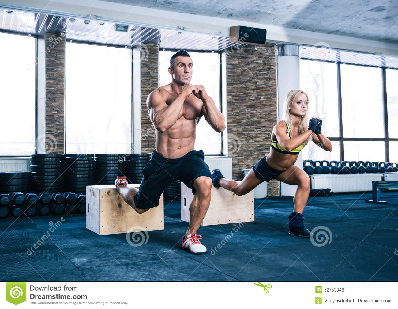 Nude Men Working Out 97