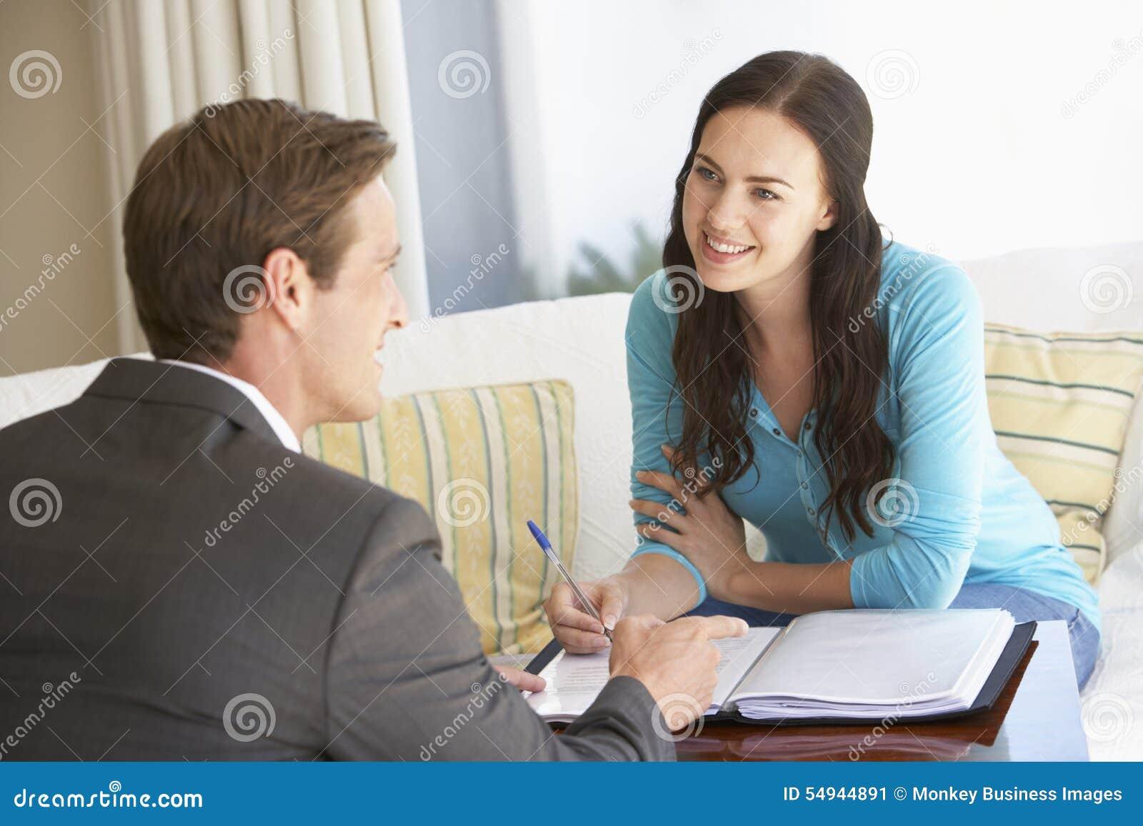 Home Advisor Woman
