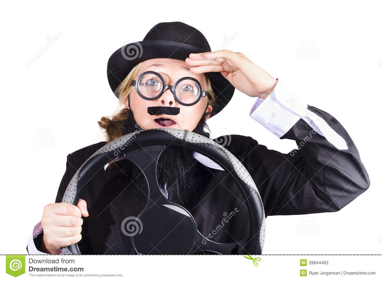 Behind The Steering Wheel : Senior driver stock photo image of