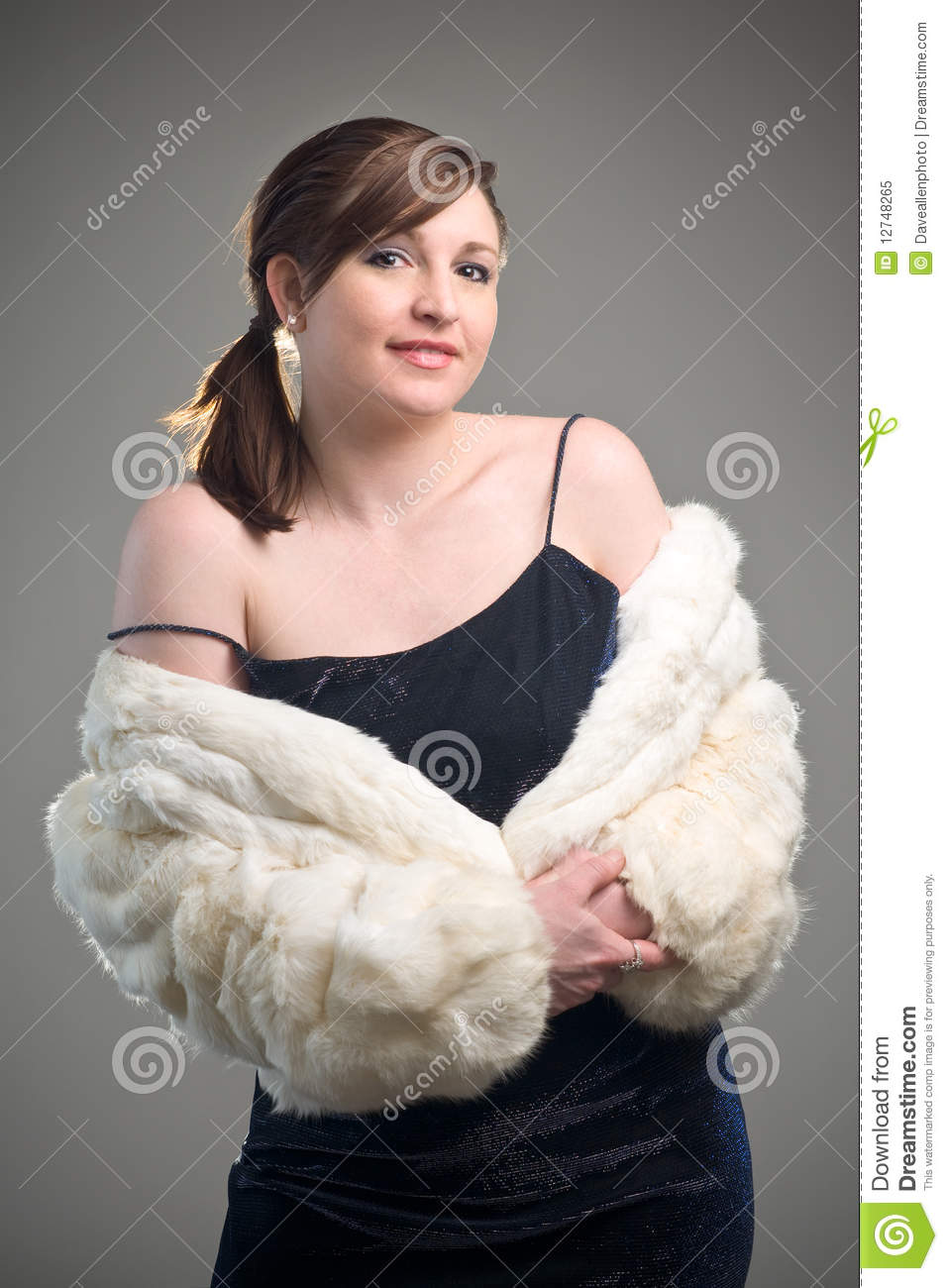 Assured it. redhead in white fur consider, that