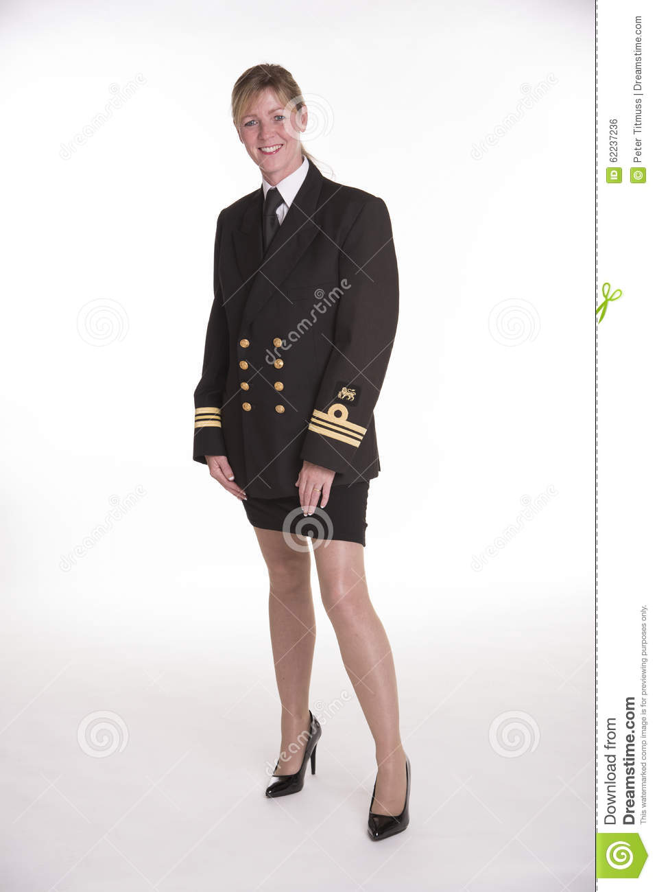 Female Naval Officer Uniform 117