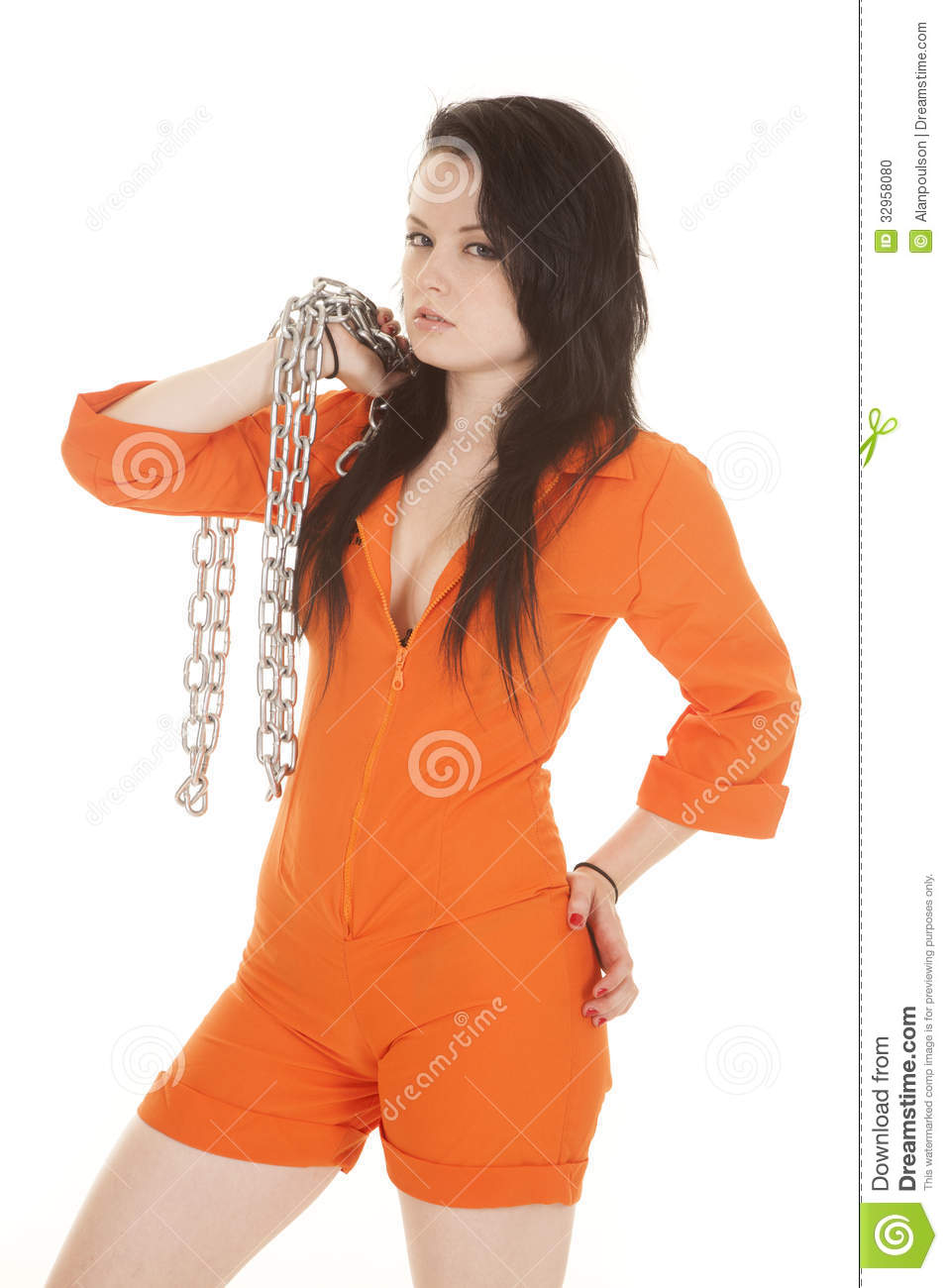 Excellent Its True What They Say  Orange Is The New Black  If Youre Looking At Being Bad, Then Youd Better Be Ready To Wear This Womens Prison Jumpsuit And Pay The Price Just Dont Let Any REAL Cops See You, Or You Might Have Some Explaining