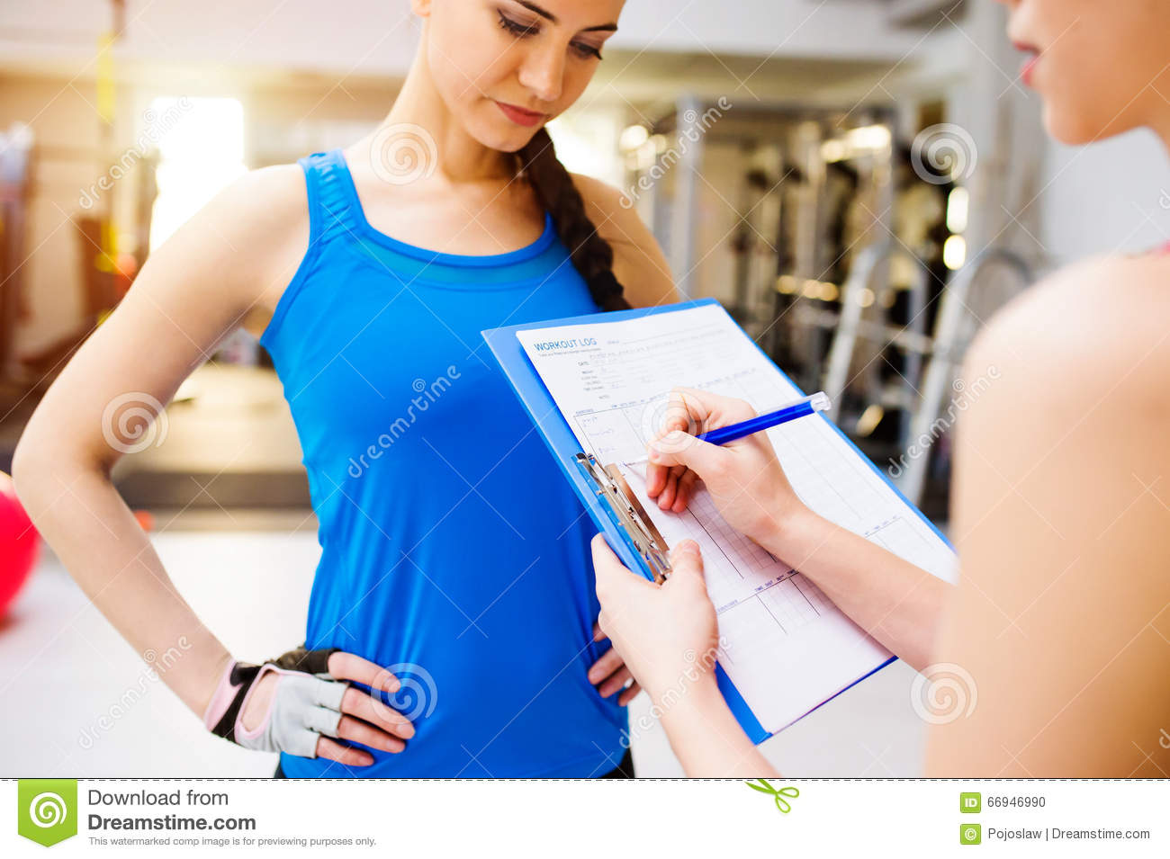 Dating a female personal trainer