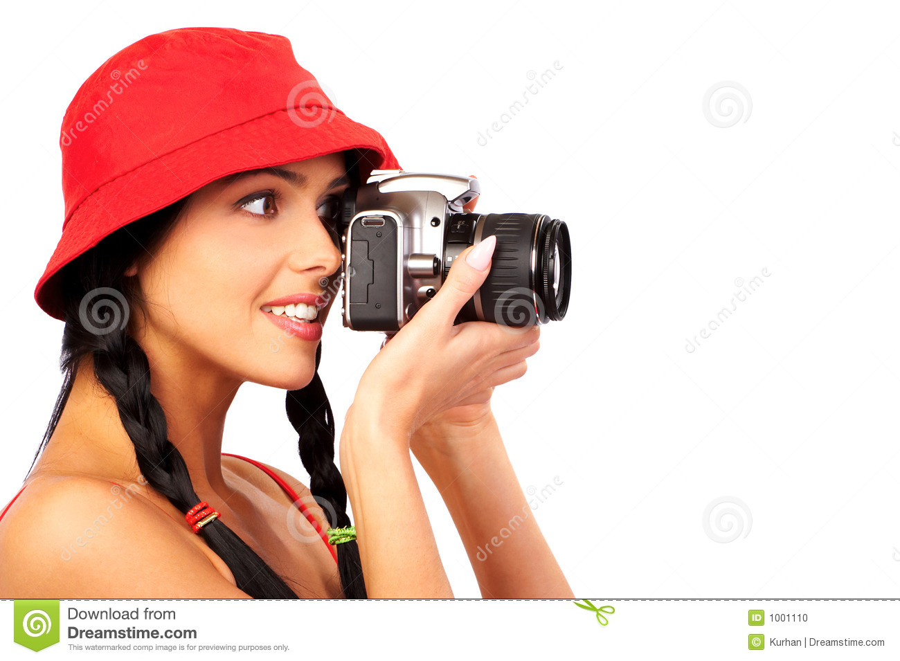 WOMAN PHOTOGRAPHER stock photo. Image of camera 1aa304ceb3