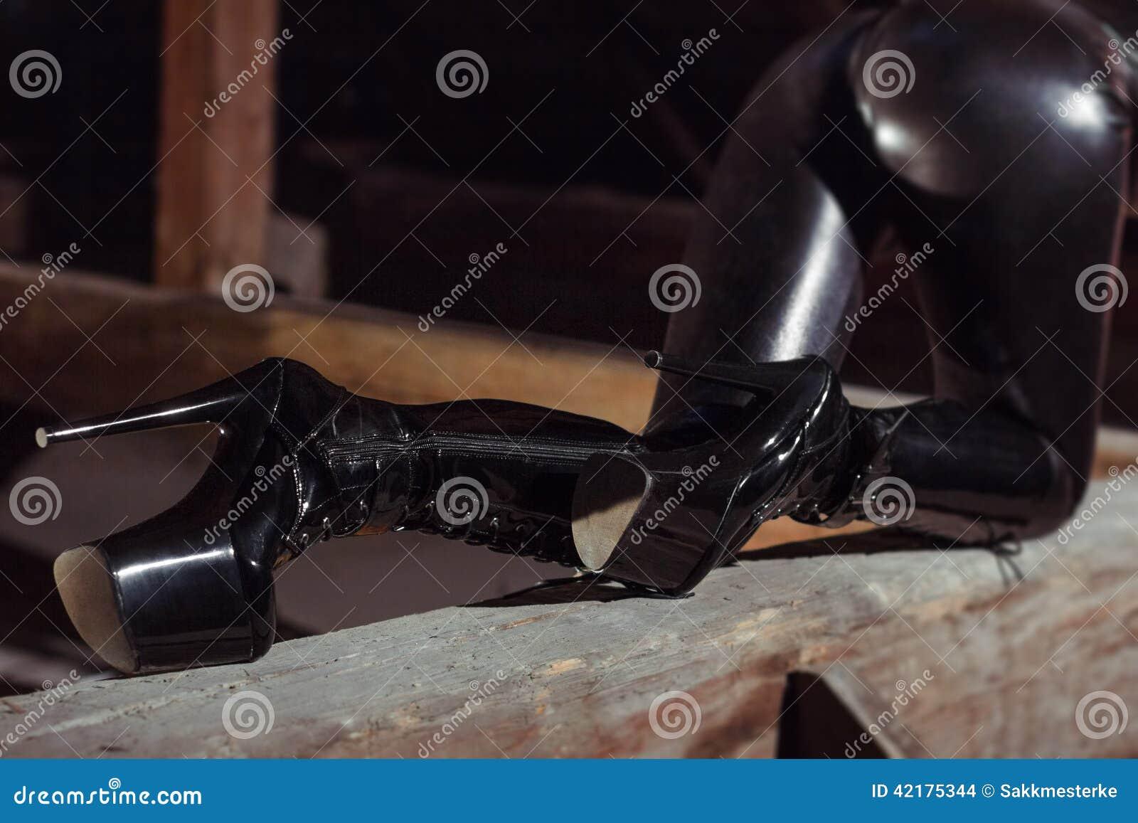 catsuit high heels sex videos bdsm