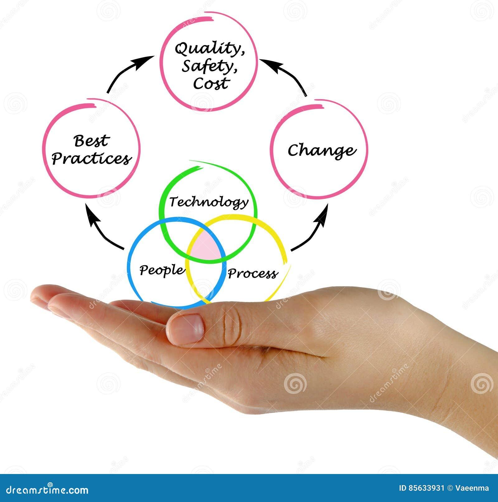 Management Diagram Stock Image  Image Of Presentation