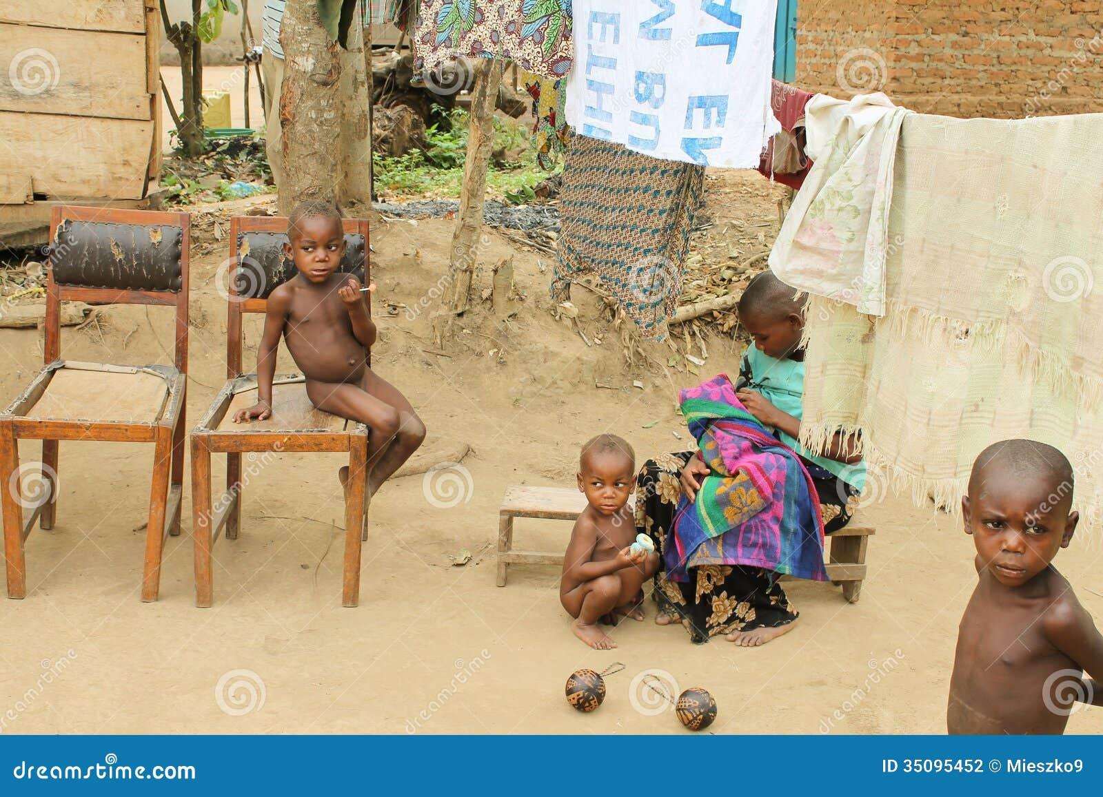 Uganda Pygmies High Resolution Stock Photography and
