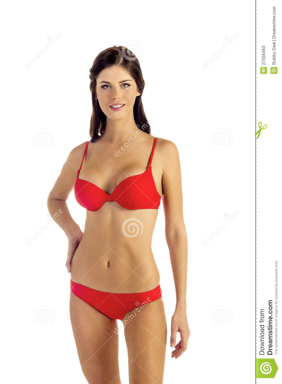 Women In Red Bikini 45
