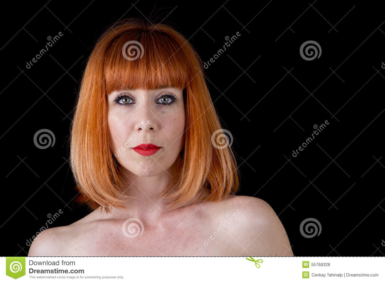 Red Haired naked