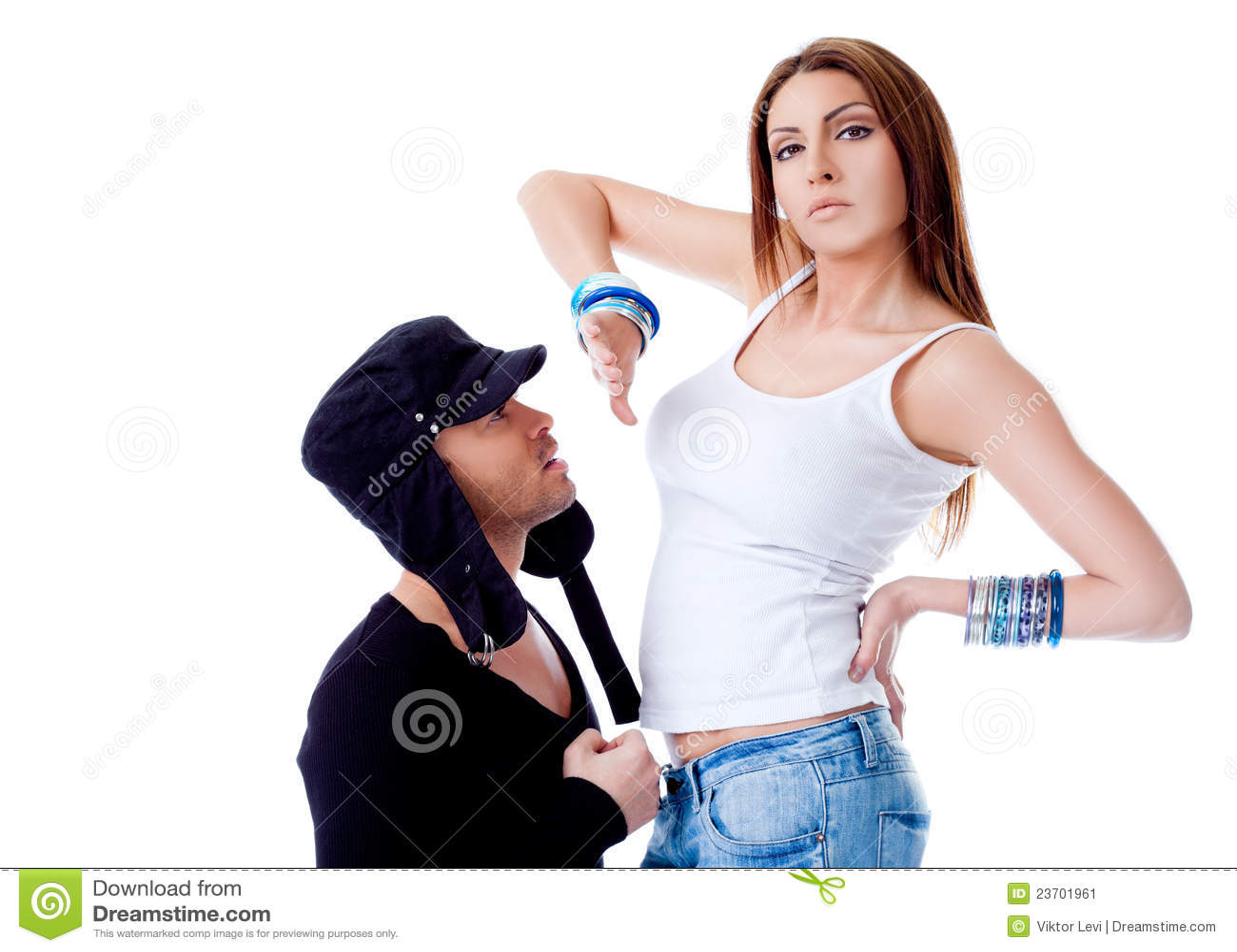 Men rejecting women