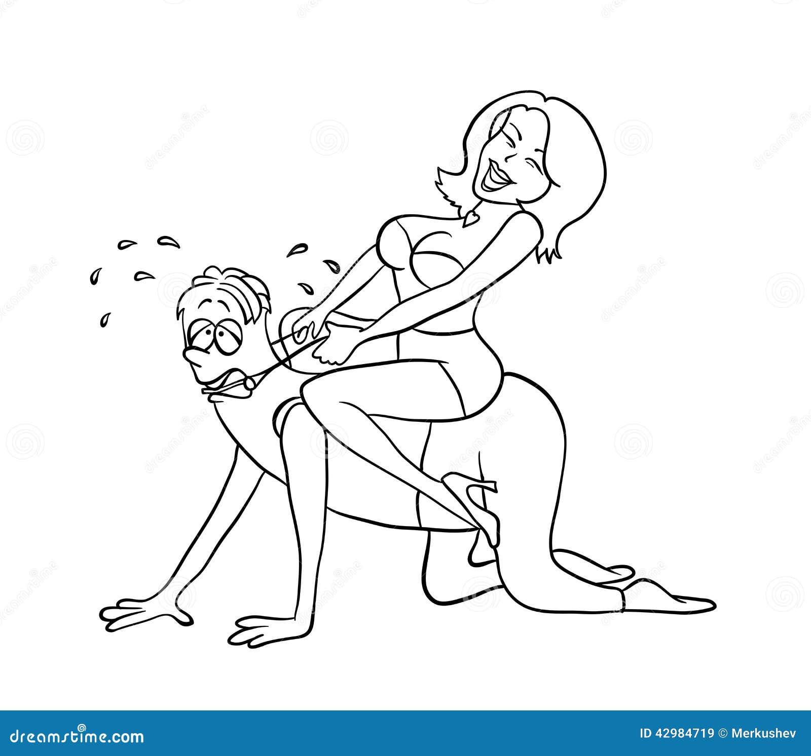 Секс сверху обучающее видео очень