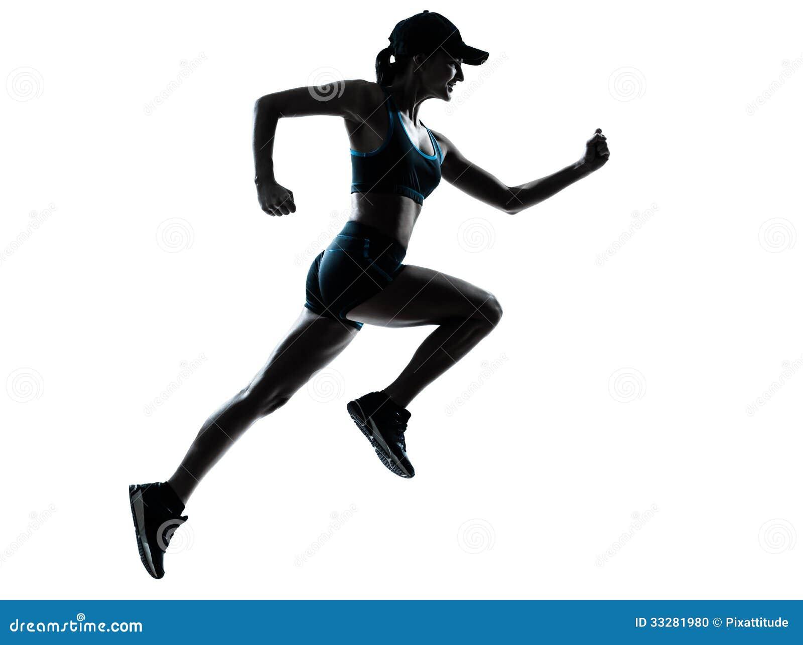girl-running-silhouette