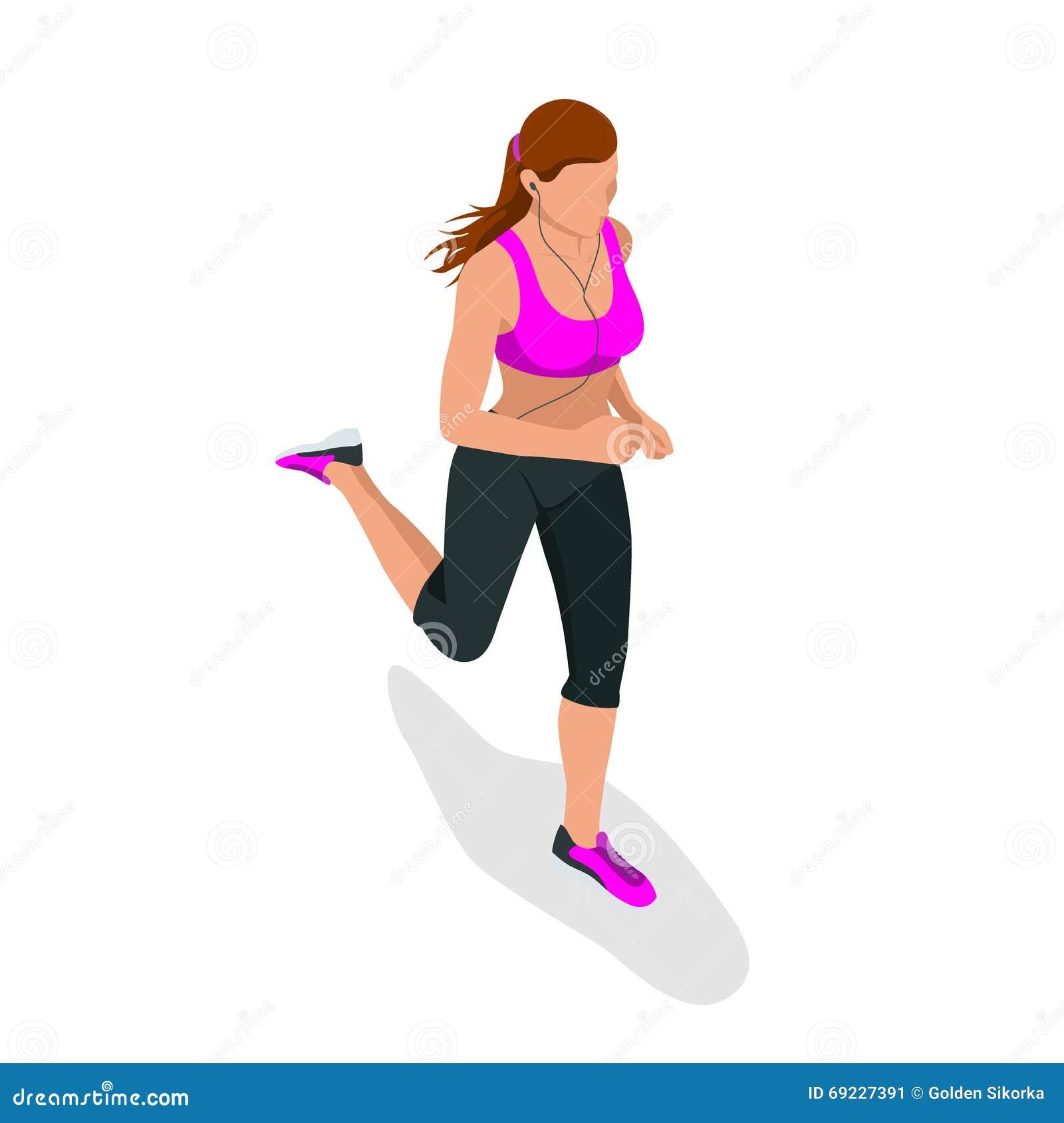 Woman Running Beautiful Girl Jogging Woman Run How To Run Faster Banner