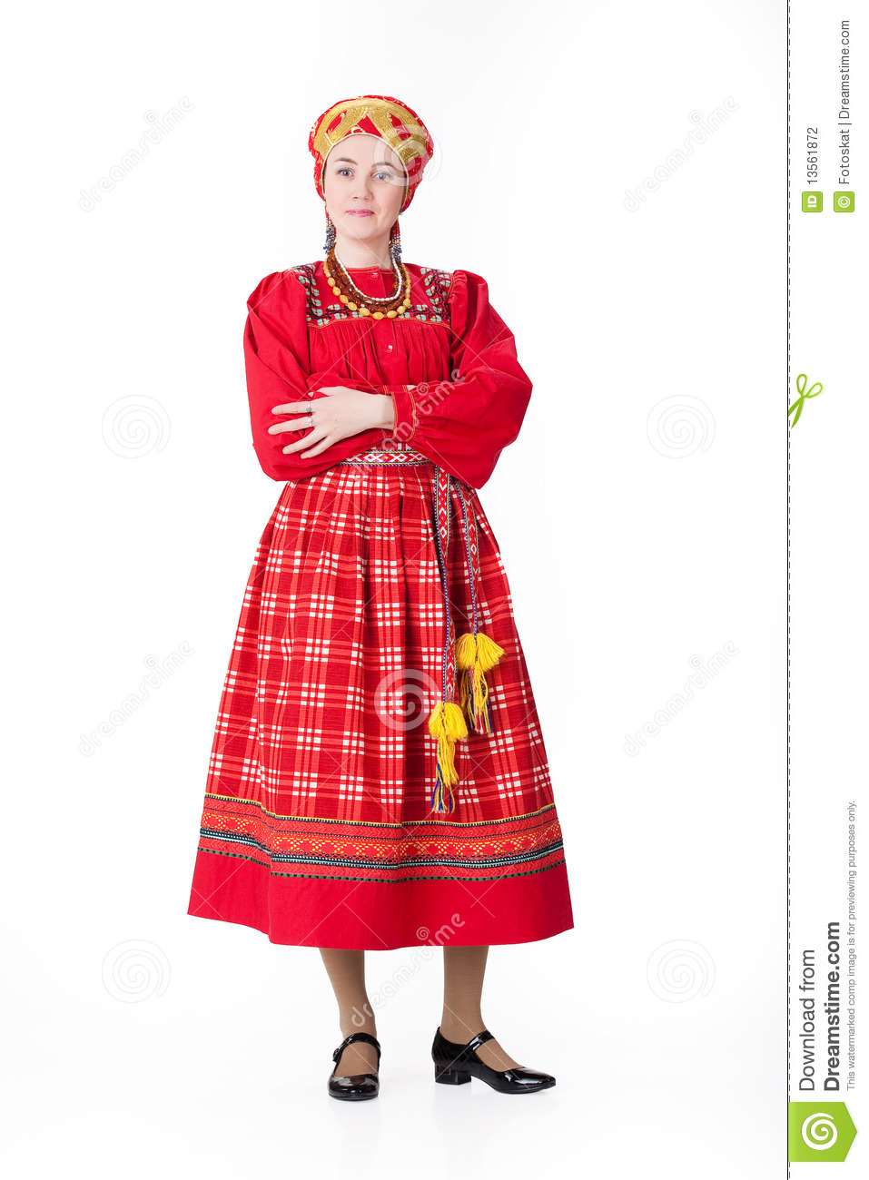 Russian Clothing For Women 2014 Woman In Russian Tradi...